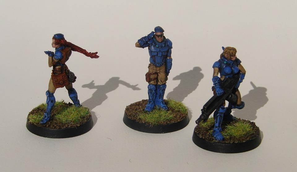 Bipandra, Fusiliers, Infinity, Panoceania