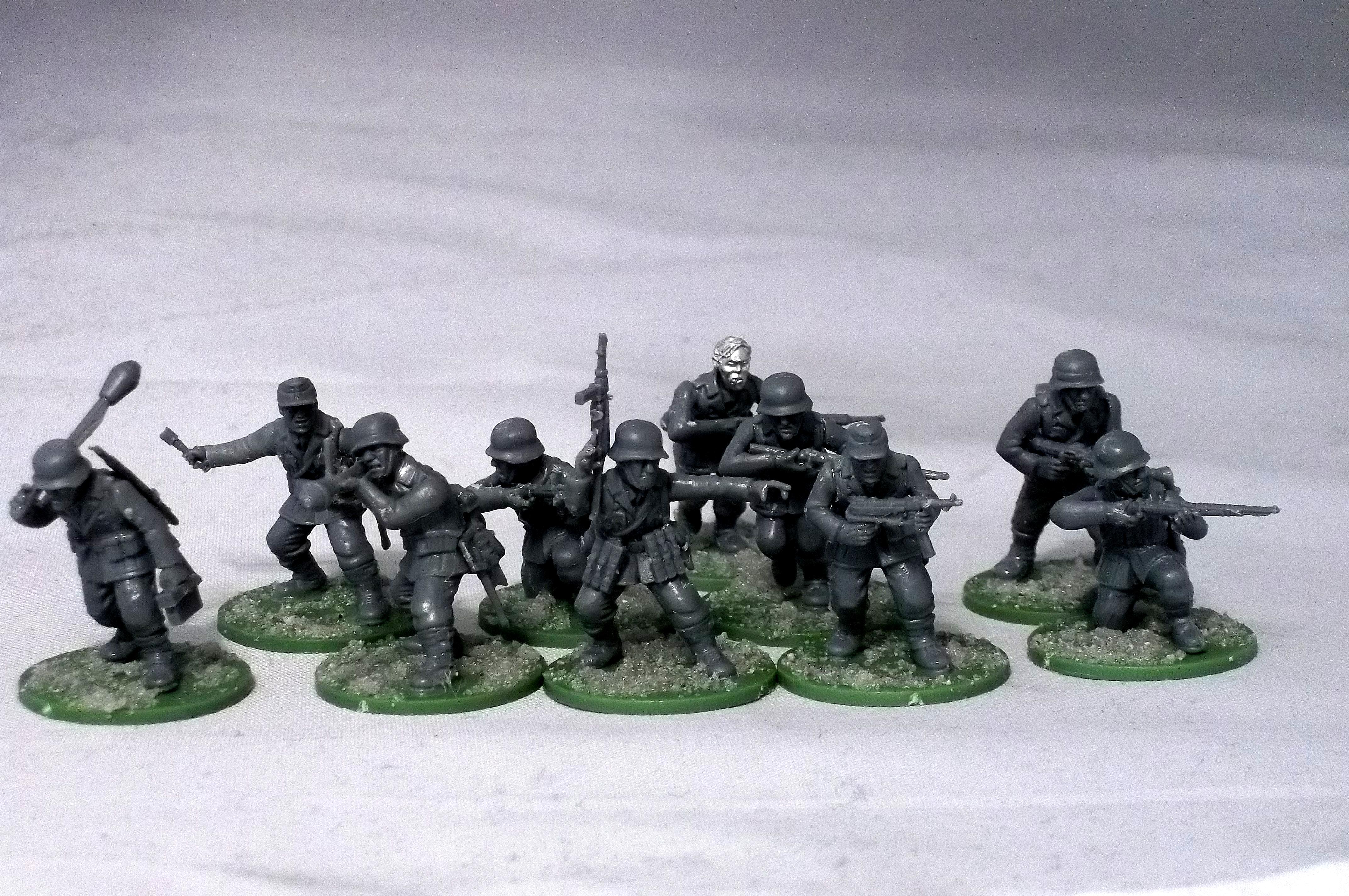 Bolt Action, Germans, Warlord Games, World War 2