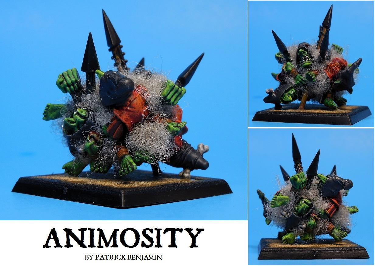 Animosity, Goblins, Marker, Orcs, Token