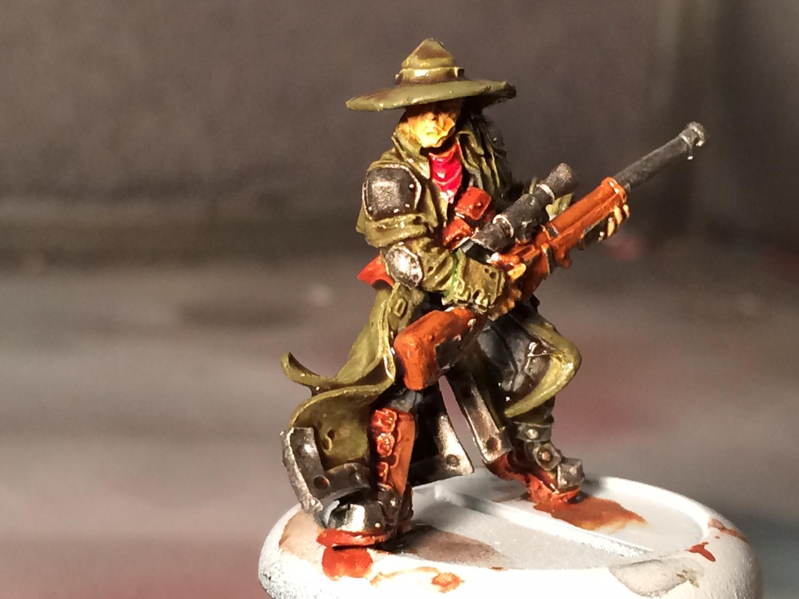 Kell Bailoch, Mercenary, Privateer Press, Warmachine