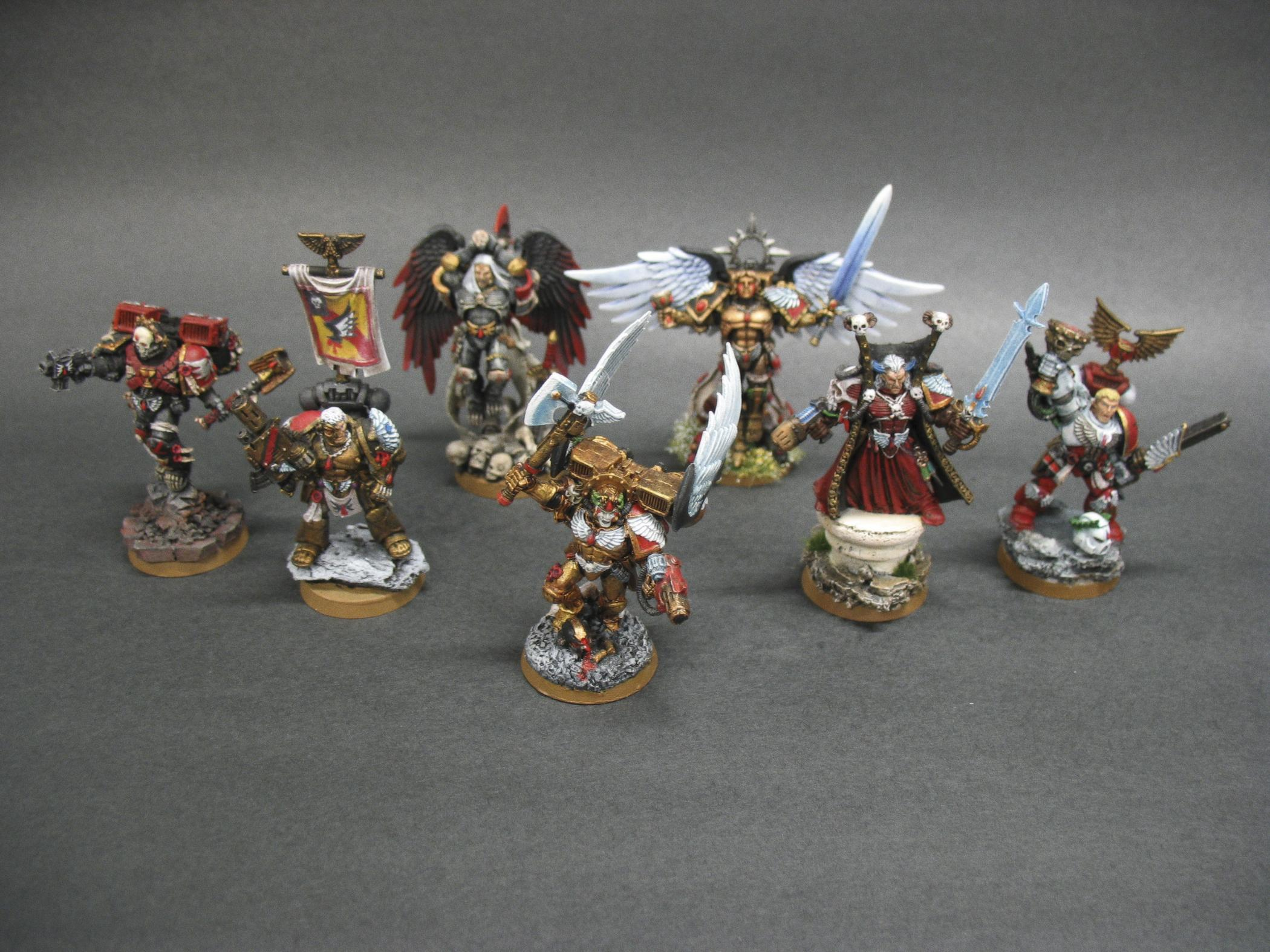 Astorath, Blood Angels, Dante, Headquarters, Lemartes, Mephiston, Sanguinor, Tycho