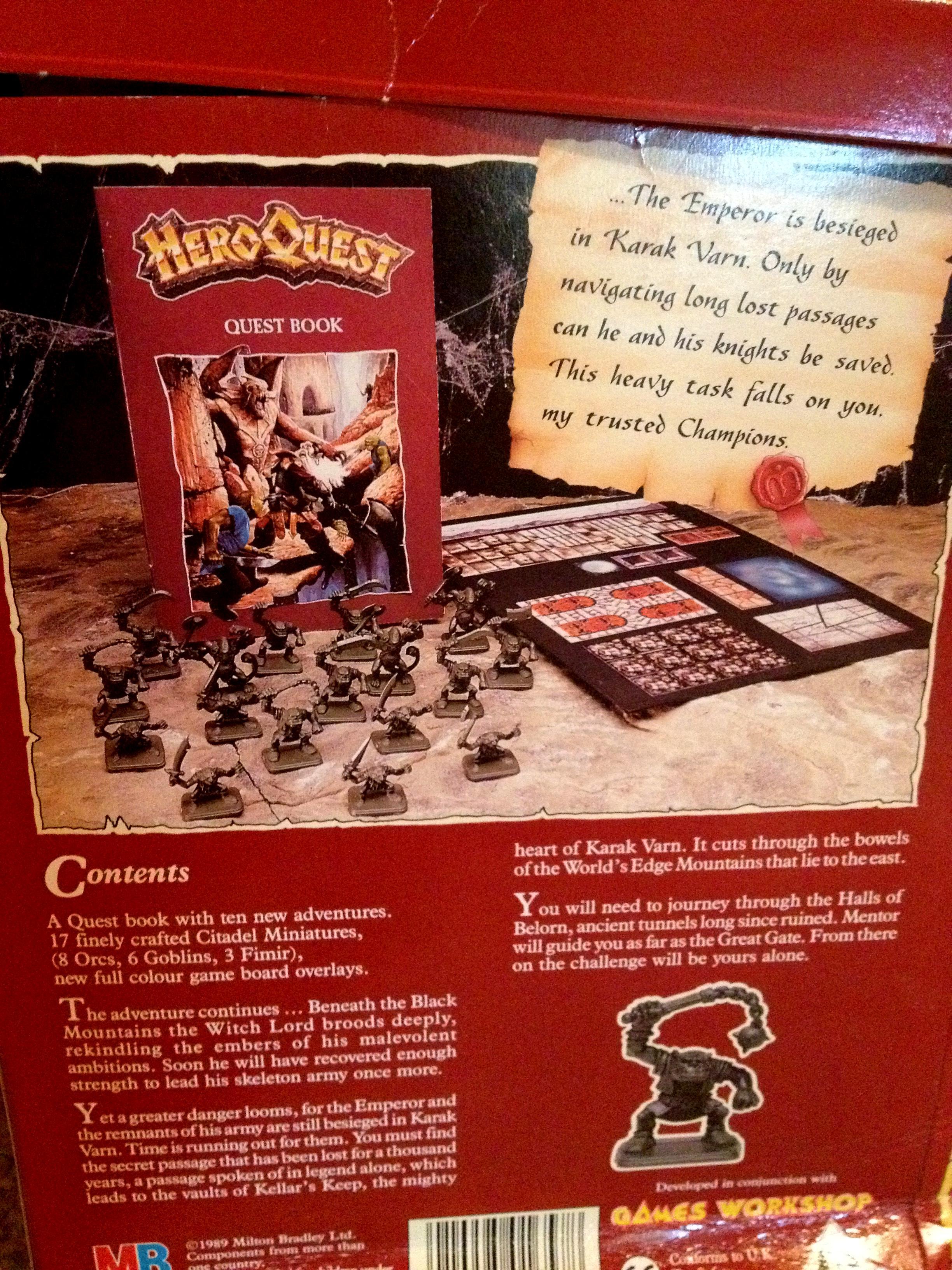 Dwarves, Games Workshop, Heroquest, Kellars Keep, Old, Orcs, Orks