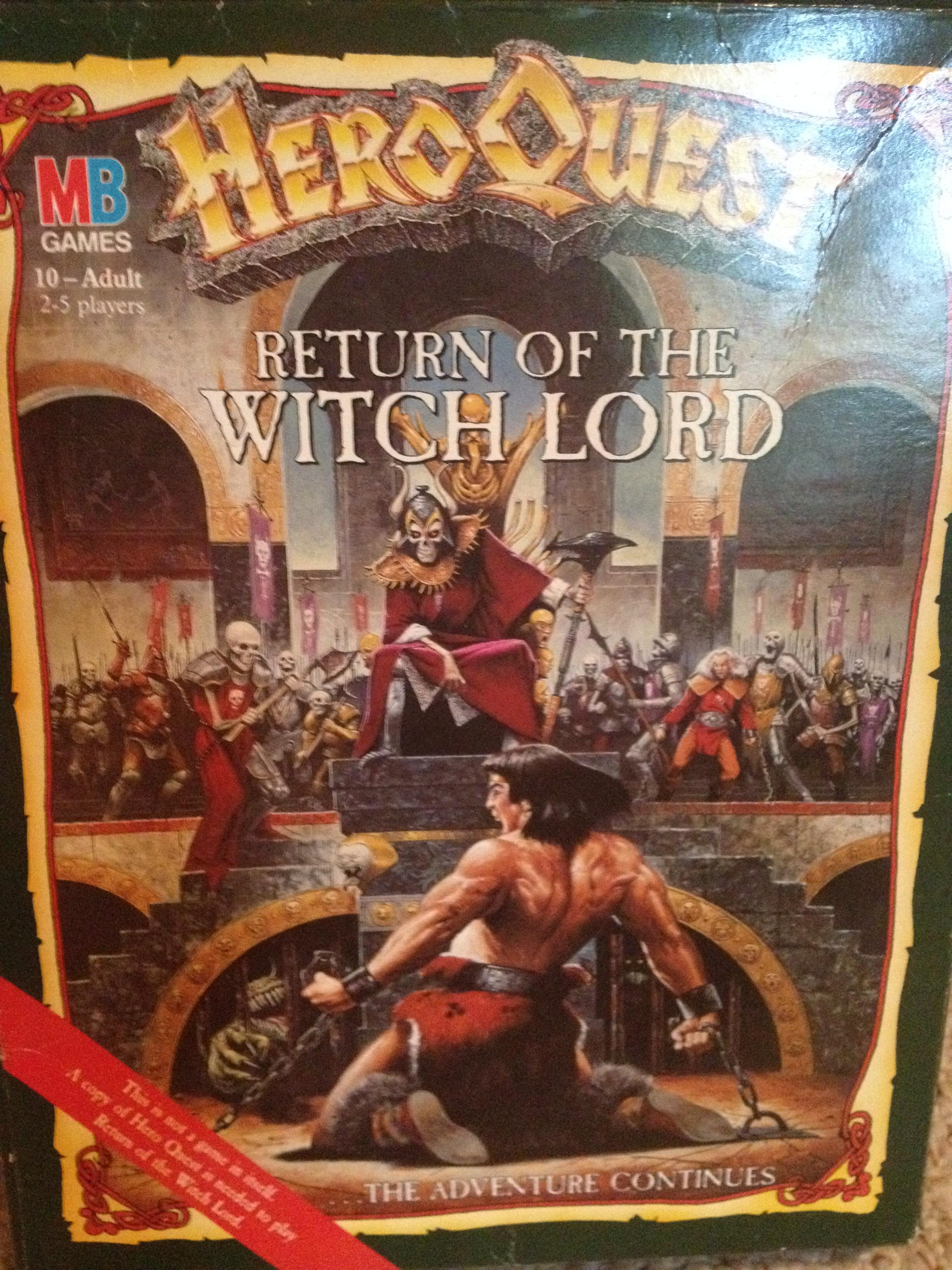 Dwarves, Games Workshop, Hero, Heroquest, Old, Orcs, Quest, Undead, Witch Lord, Witchlord