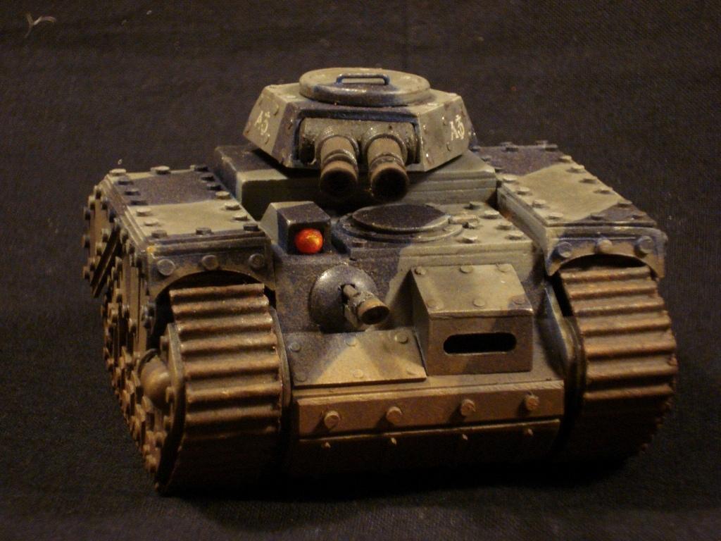 Am, Centaur, Imperial Guard, Scratch Build, Tankette, Vehicle, Weathered