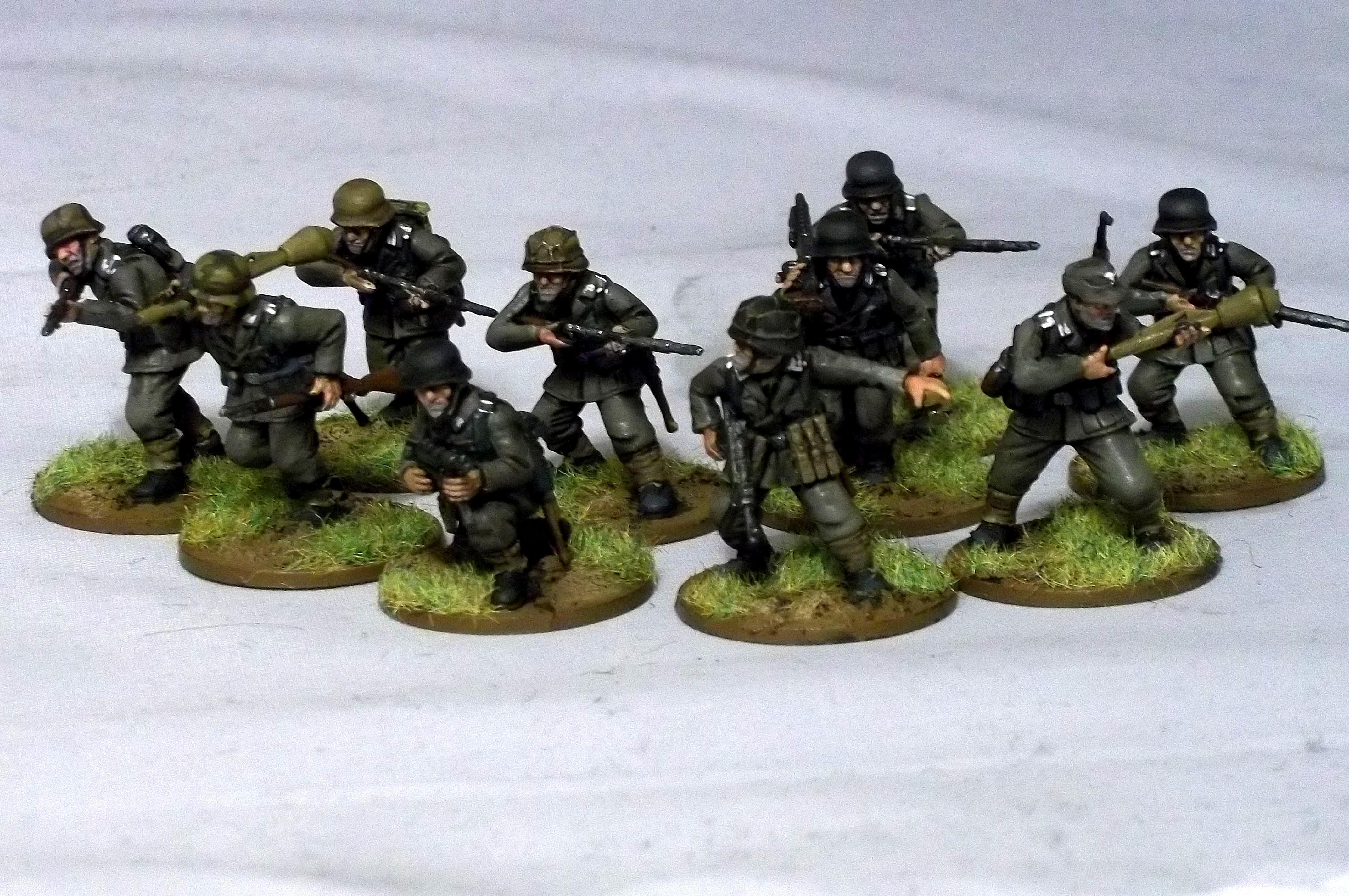 Bolt Action, Germans, Warlord Games, World War 2