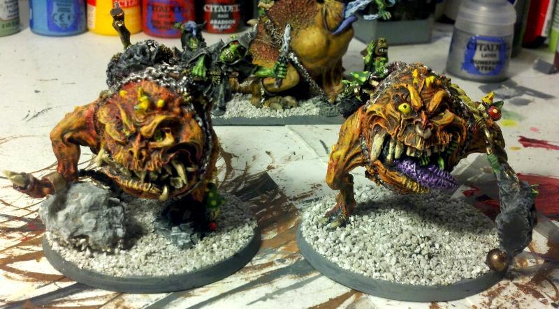 Mangler, Night Golins, Quig, Warhammer Fantasy