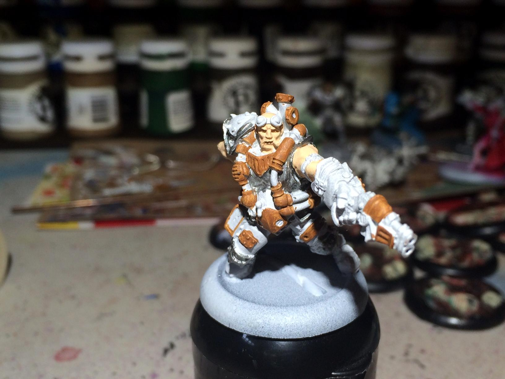 Macbain, Mercenary, Privateer Press, Warcaster, Warmachine