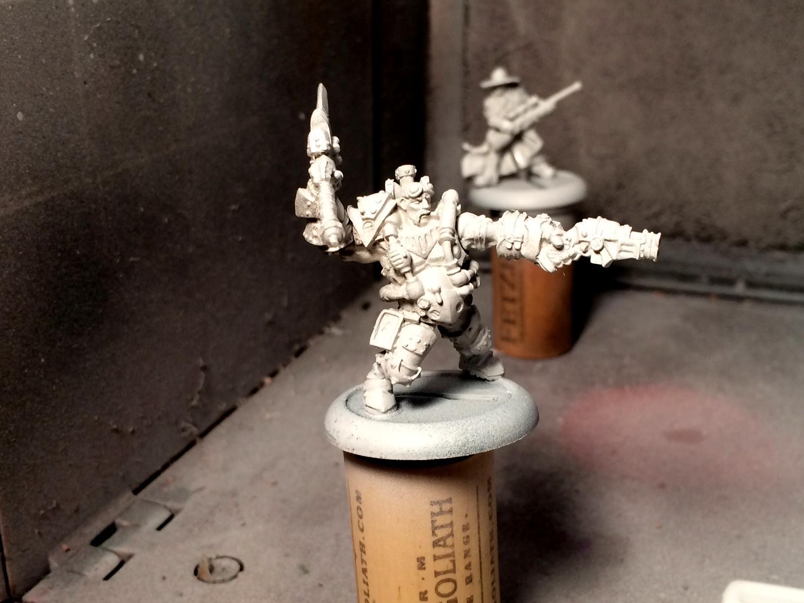 Macbain, Mercenary, Privateer Press, Warcaster, Warmachine