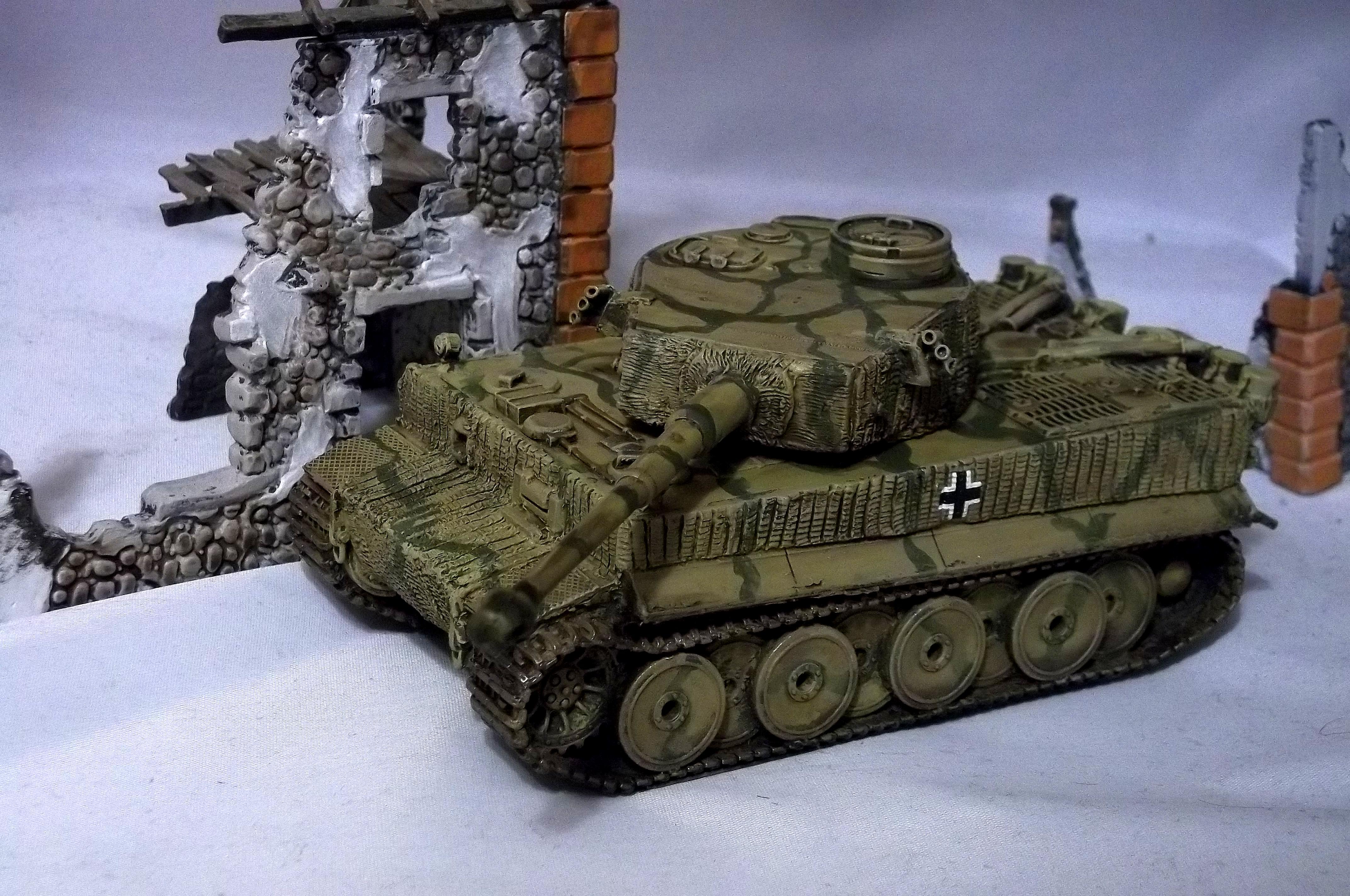 Blitzkrieg Miniatures, Bolt Action, German. Tiger Tank, World War 2