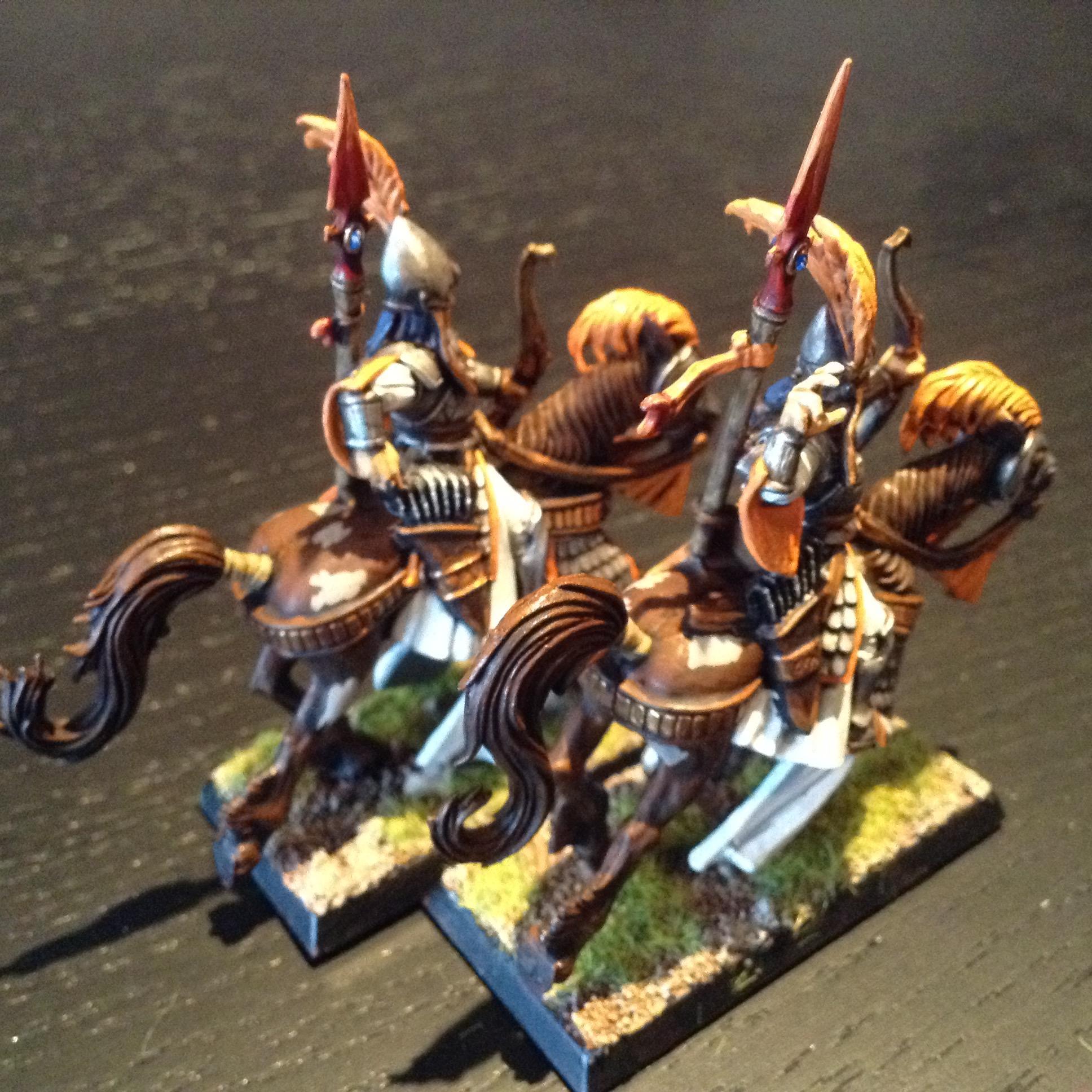 Ellyrian, High Elves, Orange, Reavers, Warhammer Fantasy
