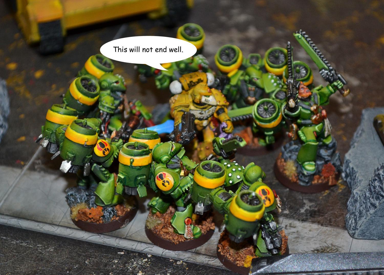 Battle Report, Lamenters, Mantis Warriors, Space Marines, Warhammer 40,000