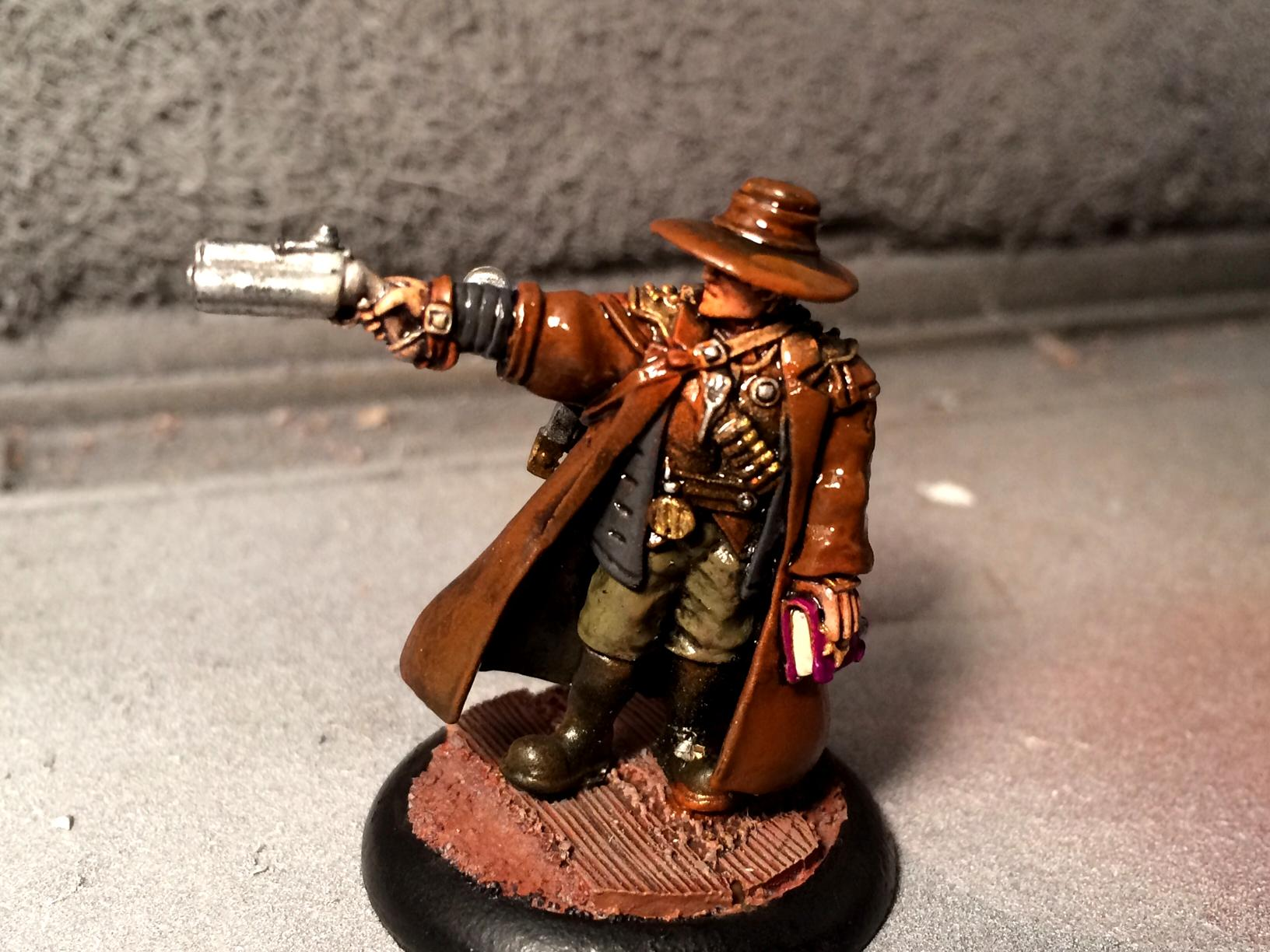 Harlan Versh, Mercenary, Privateer Press, Warmachine
