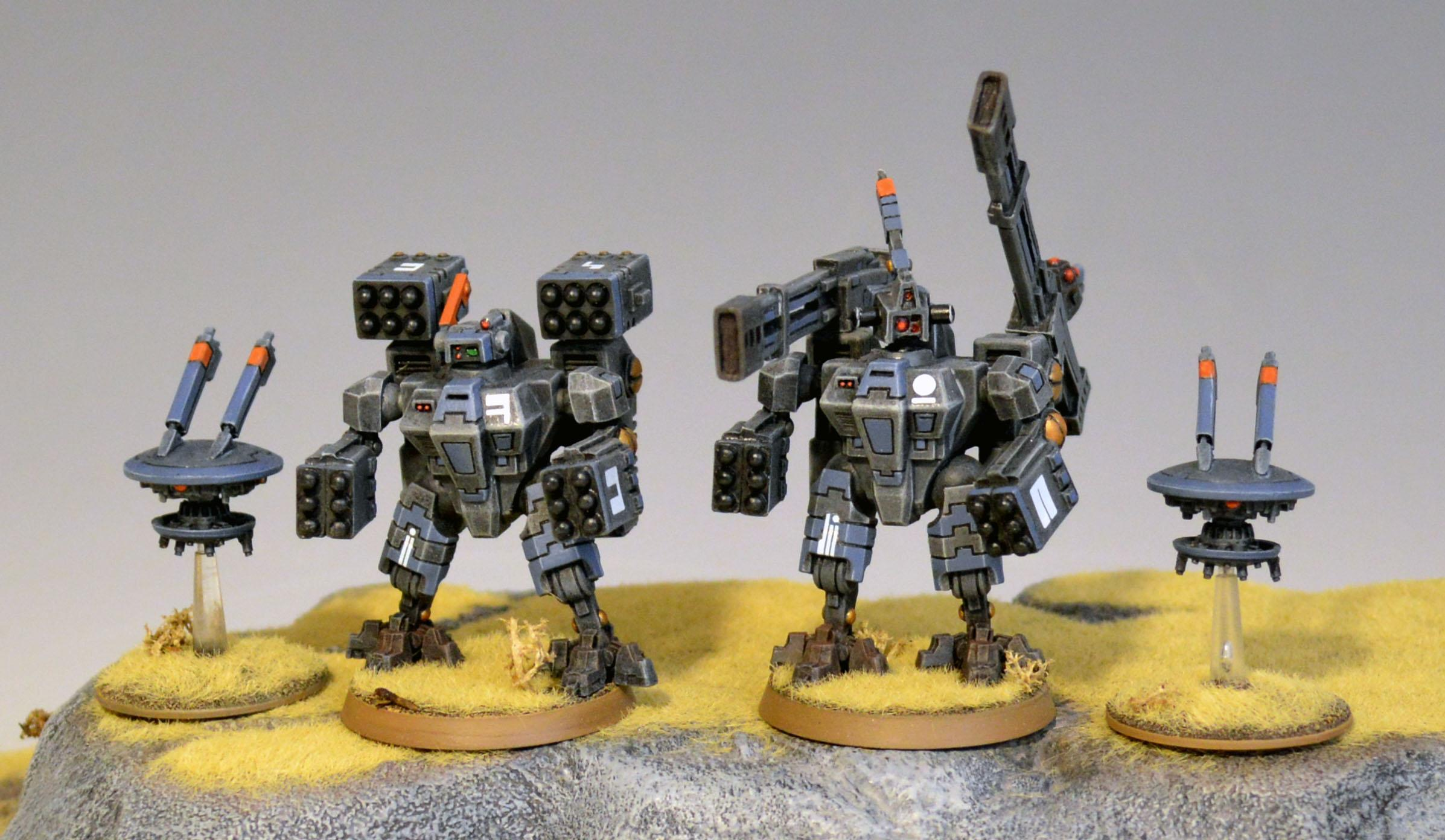 Broadsides, Xv-88, XV88 Broadside Battlesuit Team 2