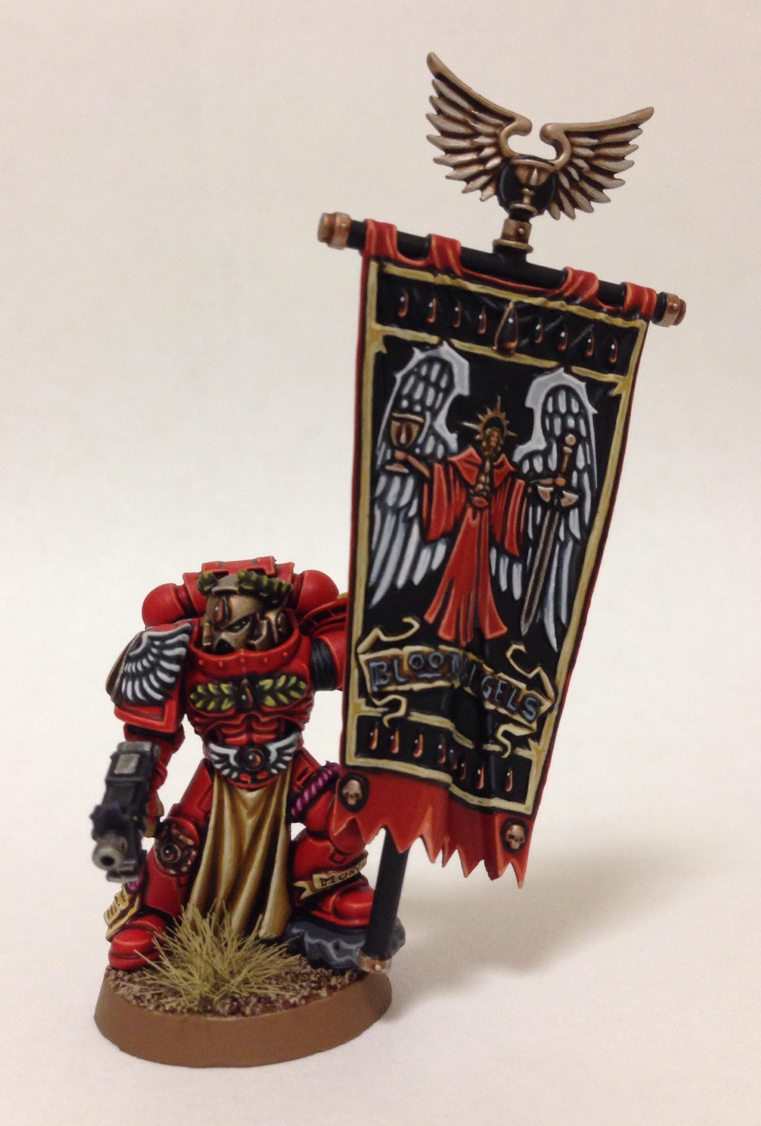 Blood Angels, Blood Angels Standard, Honor Guard, Standard, Warhammer 40,000