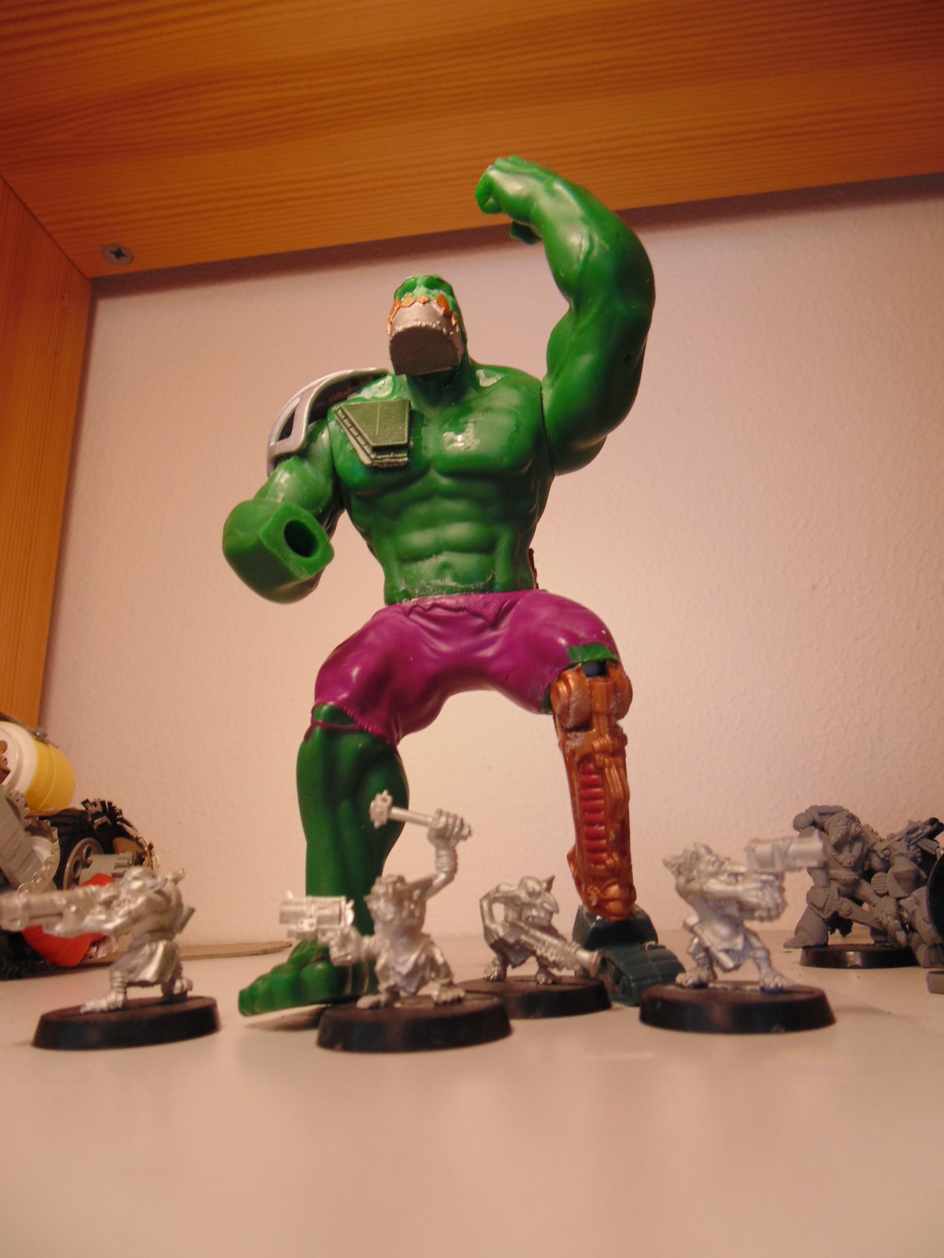 Boss, Conversion, Garbage, Garbage Garden Gnome, Garden, Ggg, Gigant, Gnomes, Huge, Hulk, Mega, Orks, Oversize, Waagh