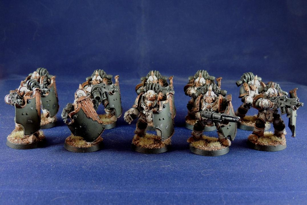 Death Guard Breacher Marines