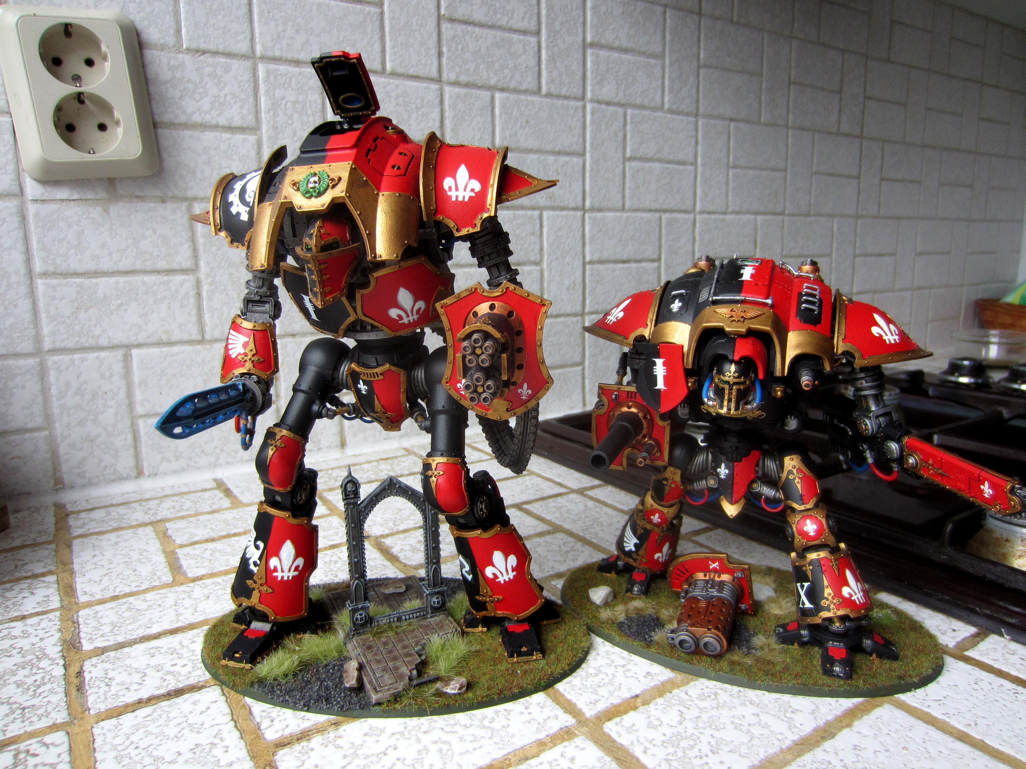 Adepta Sororitas, Castigator, Cerastus, Forge World, Knights, Sisters Of Battle, Super-heavy