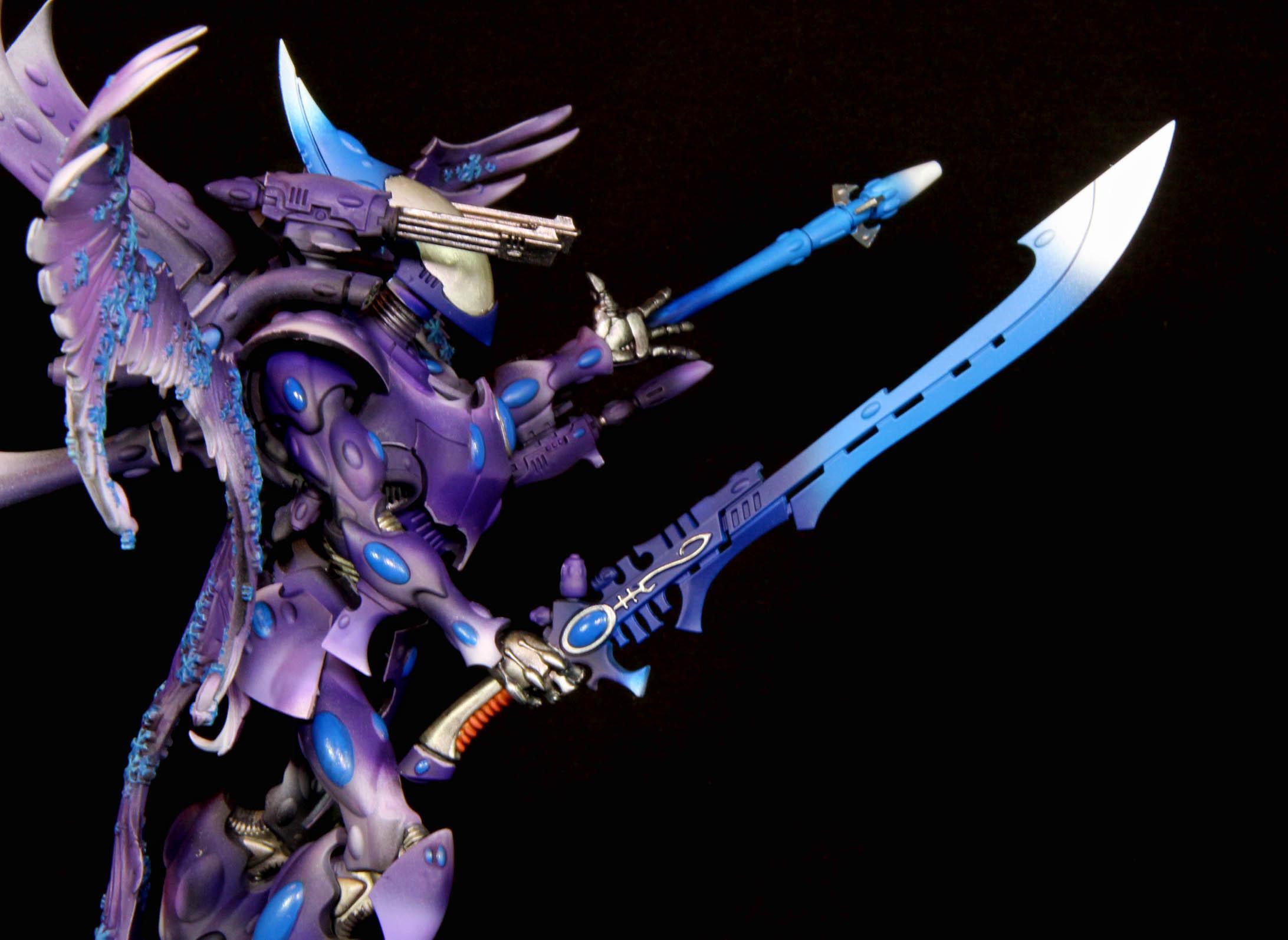 Eldar, Warhammer 40,000, Warhammer Fantasy, Wraithknight