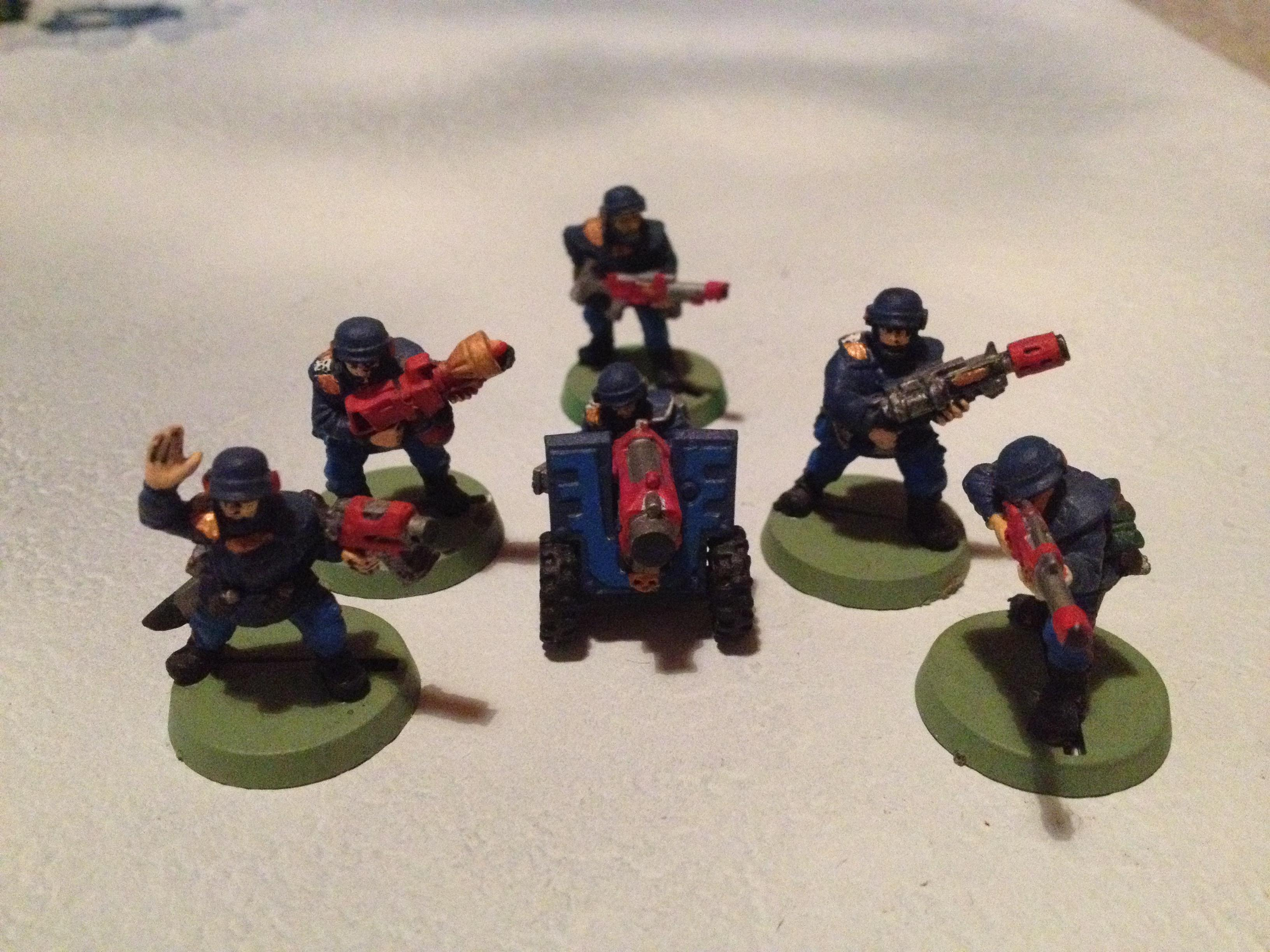 2nd Edition, Cadians, Imperial Guard