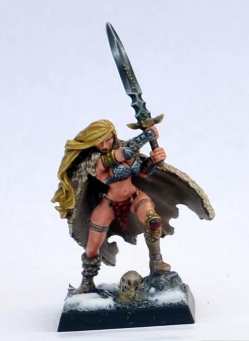 Barbarian, Chainmail Bikini, Female, Marauders, Warriors Of Chaos
