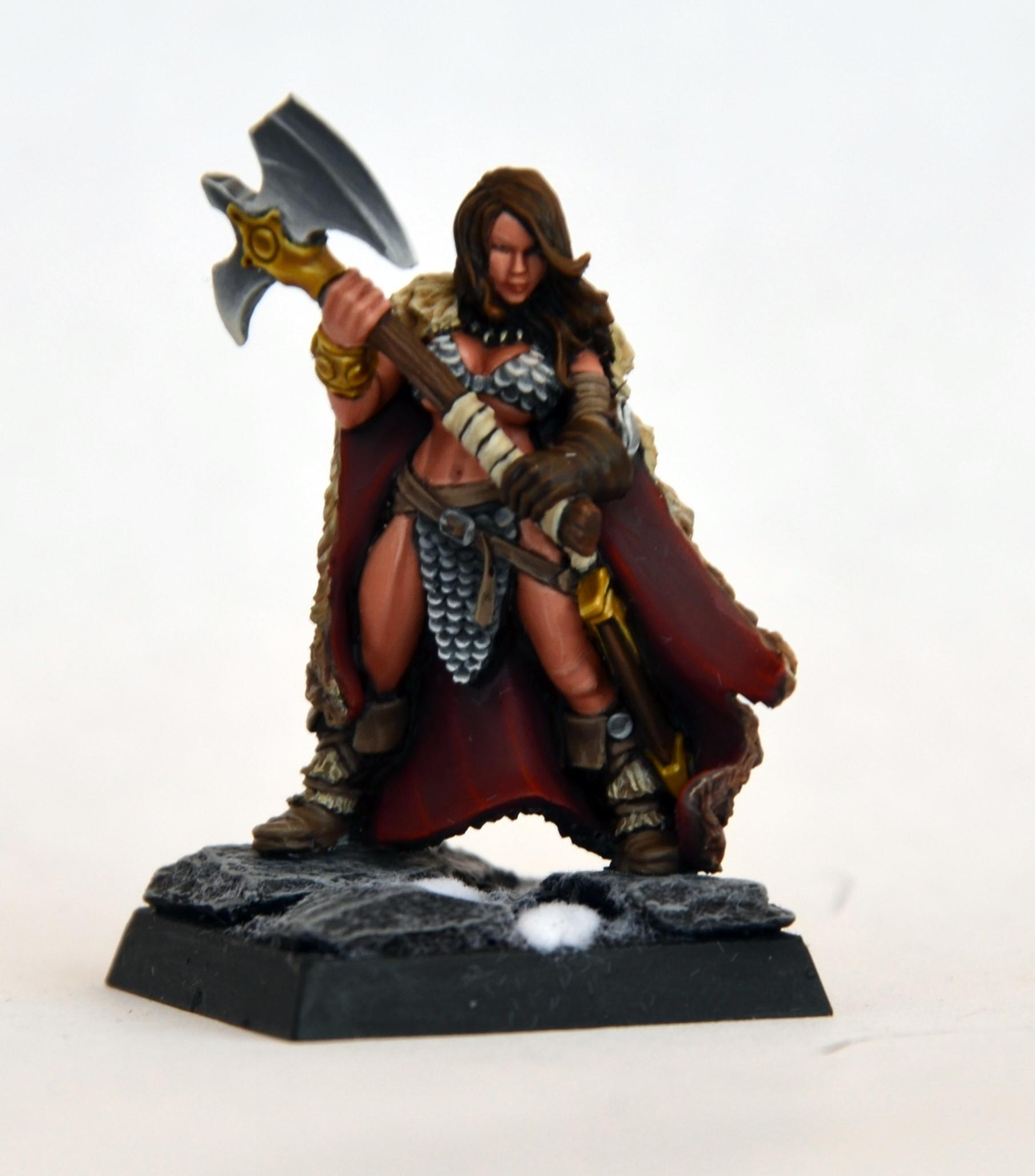 Chainmail Bikini, Chaos, Female, Hasslefree Miniatures, Marauders, Warriors Of Chaos