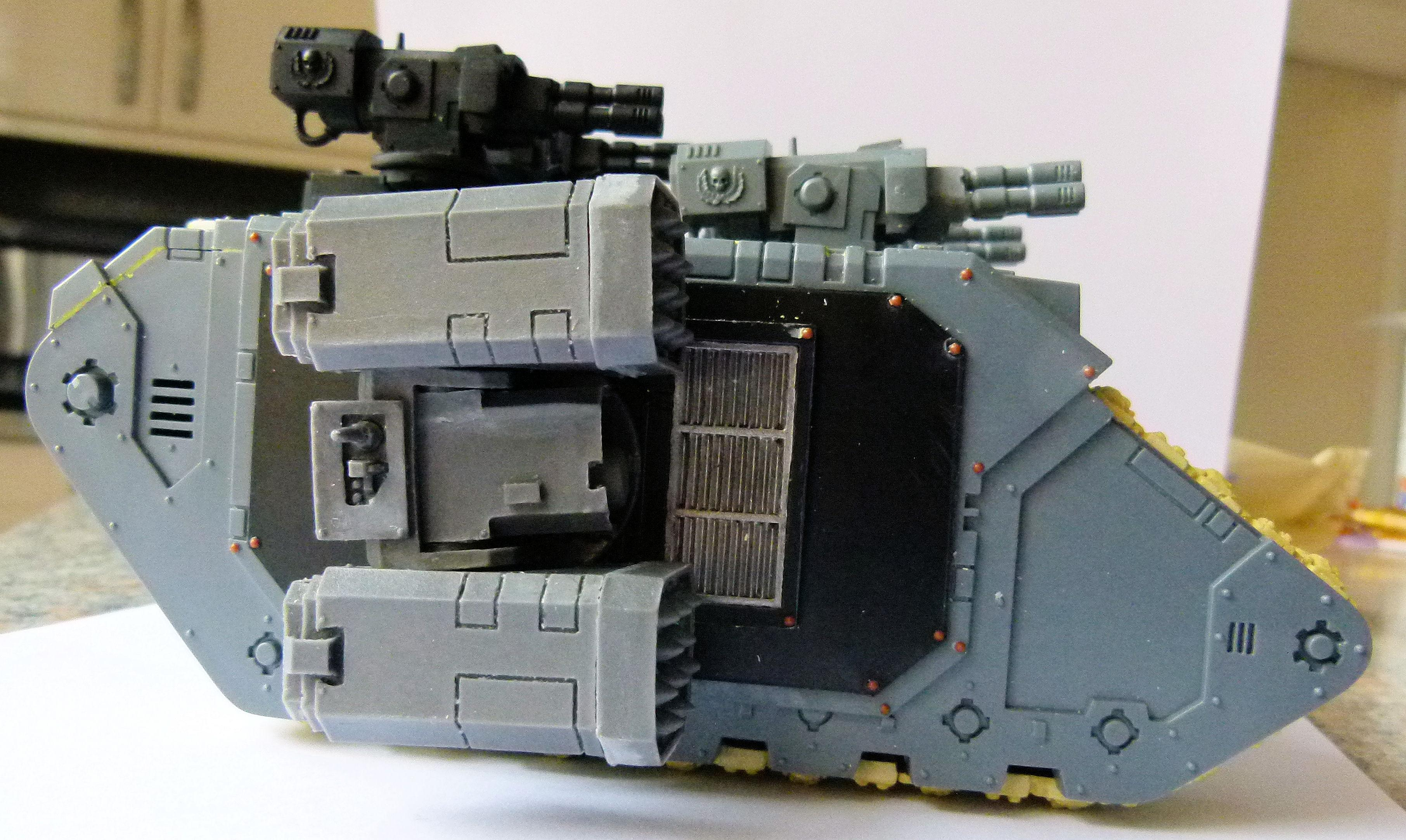 Flak Land Raider Completed Right Side