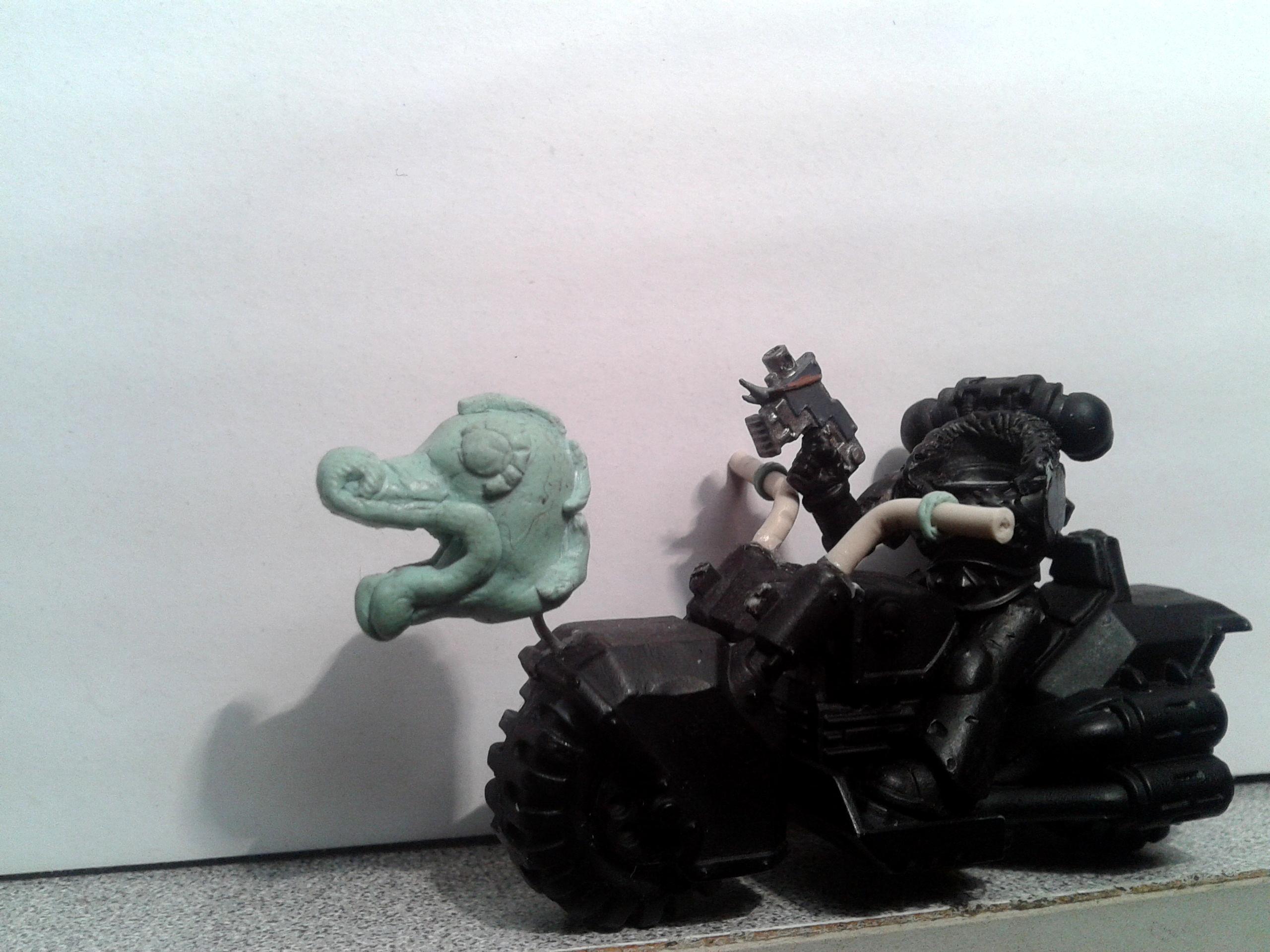 Bike, Runepriest, Spacewolfs