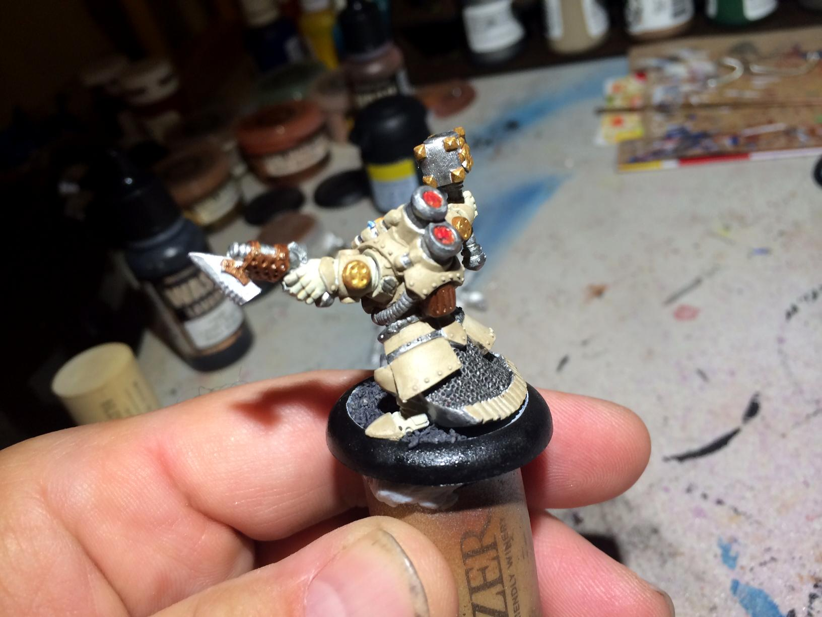 Gorton, Mercenary, Privateer Press, Rhulic, Warmachine