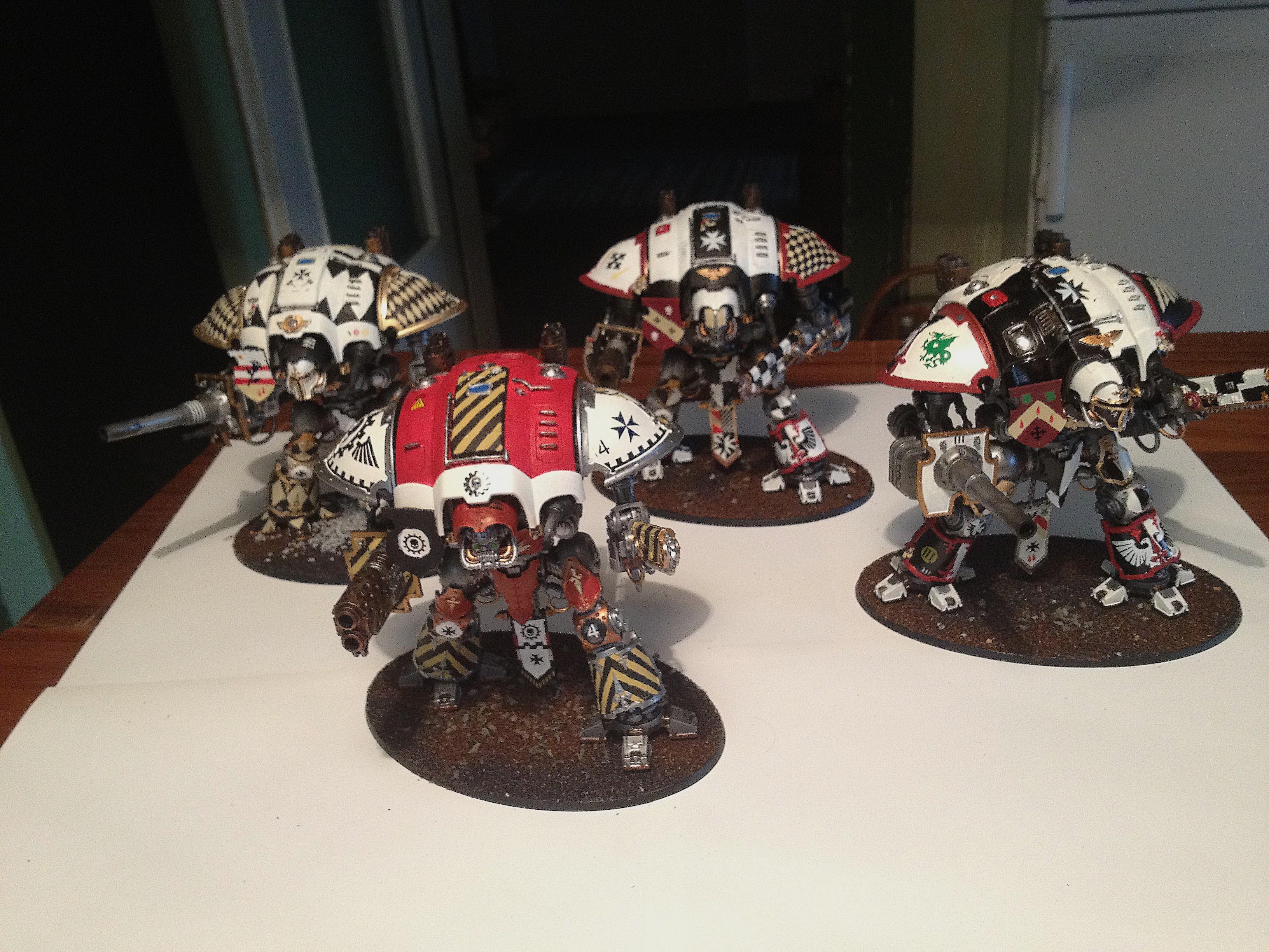 Iimperial Knights, Warhammer 40,000