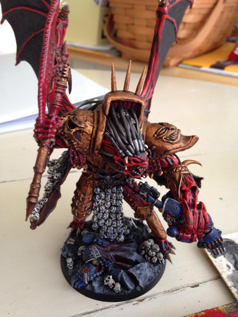 Angron, Chaos Space Marines, Daemon Prince, Khorne, Primarch, World Eaters