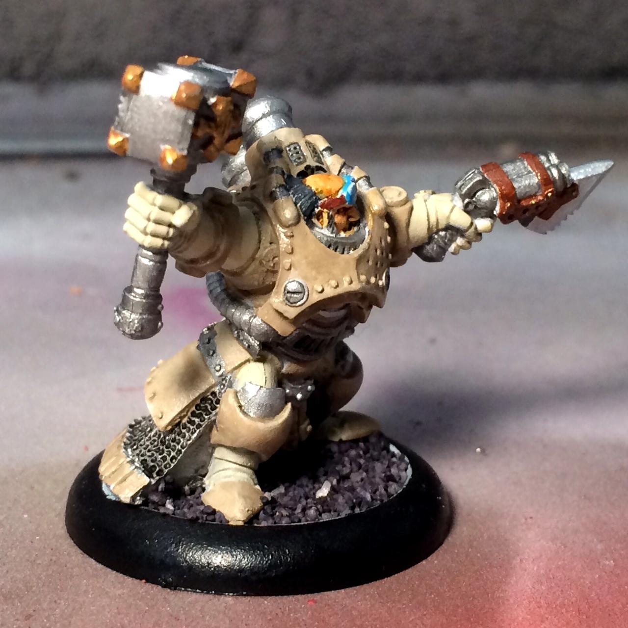 Gorton, Mercenary, Privateer Press, Rhulic, Warmachine