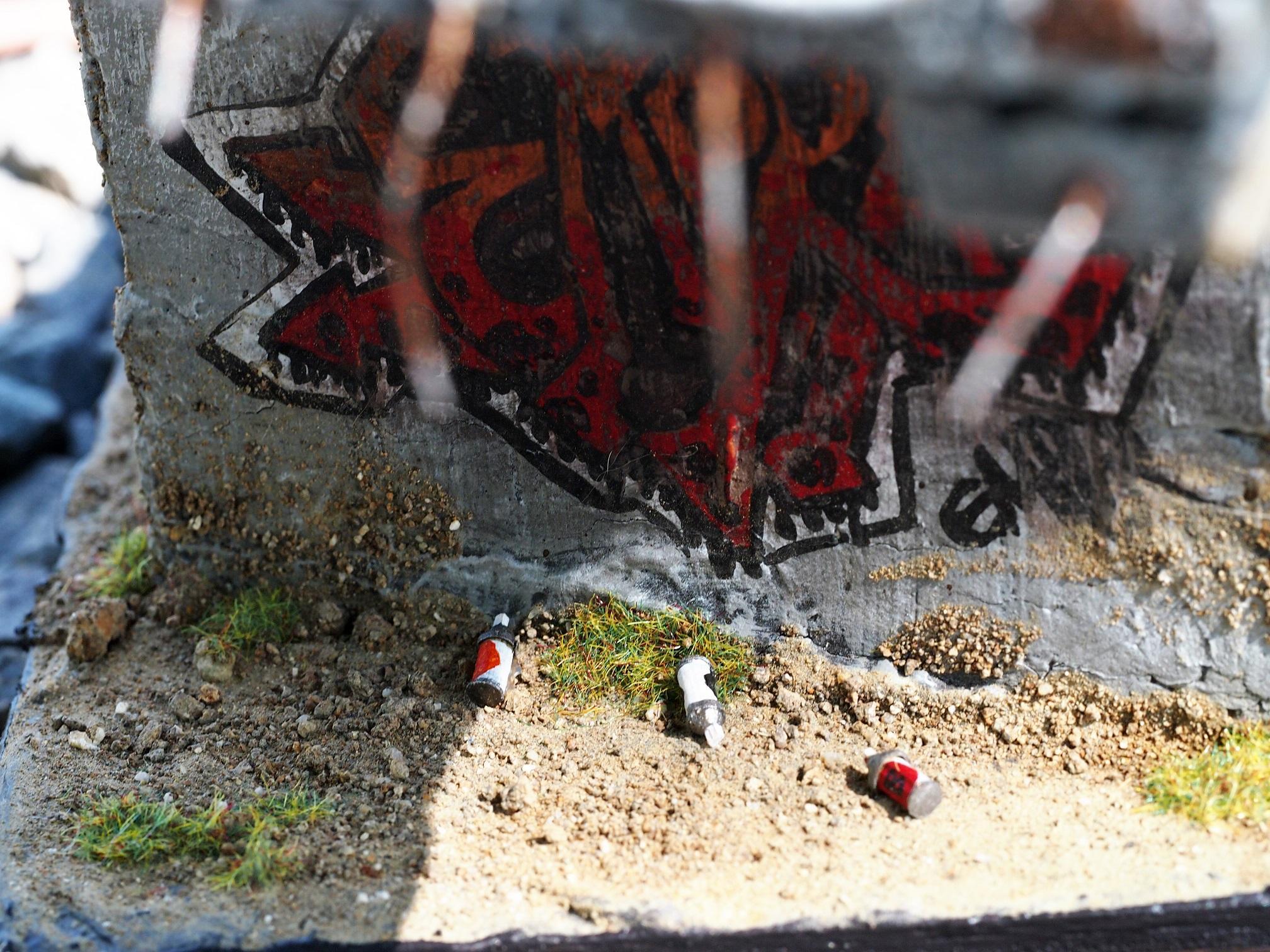 Bridge, Details, Graffitti, Infinity, Terrain, Warhammer 40,000