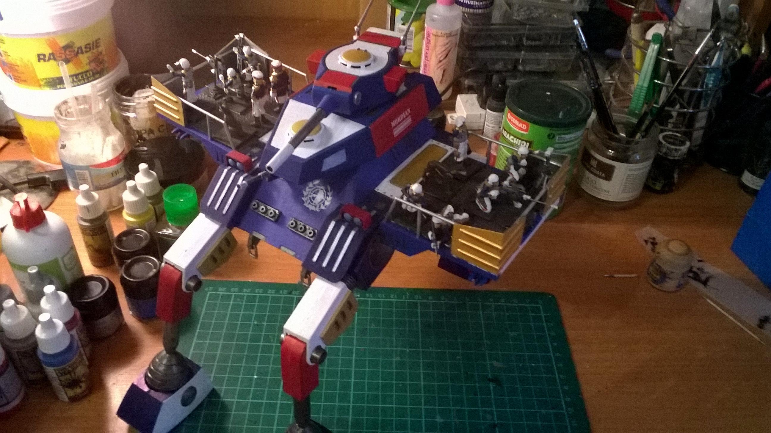 Imperial Guard, Mordian, Robotech, Walker