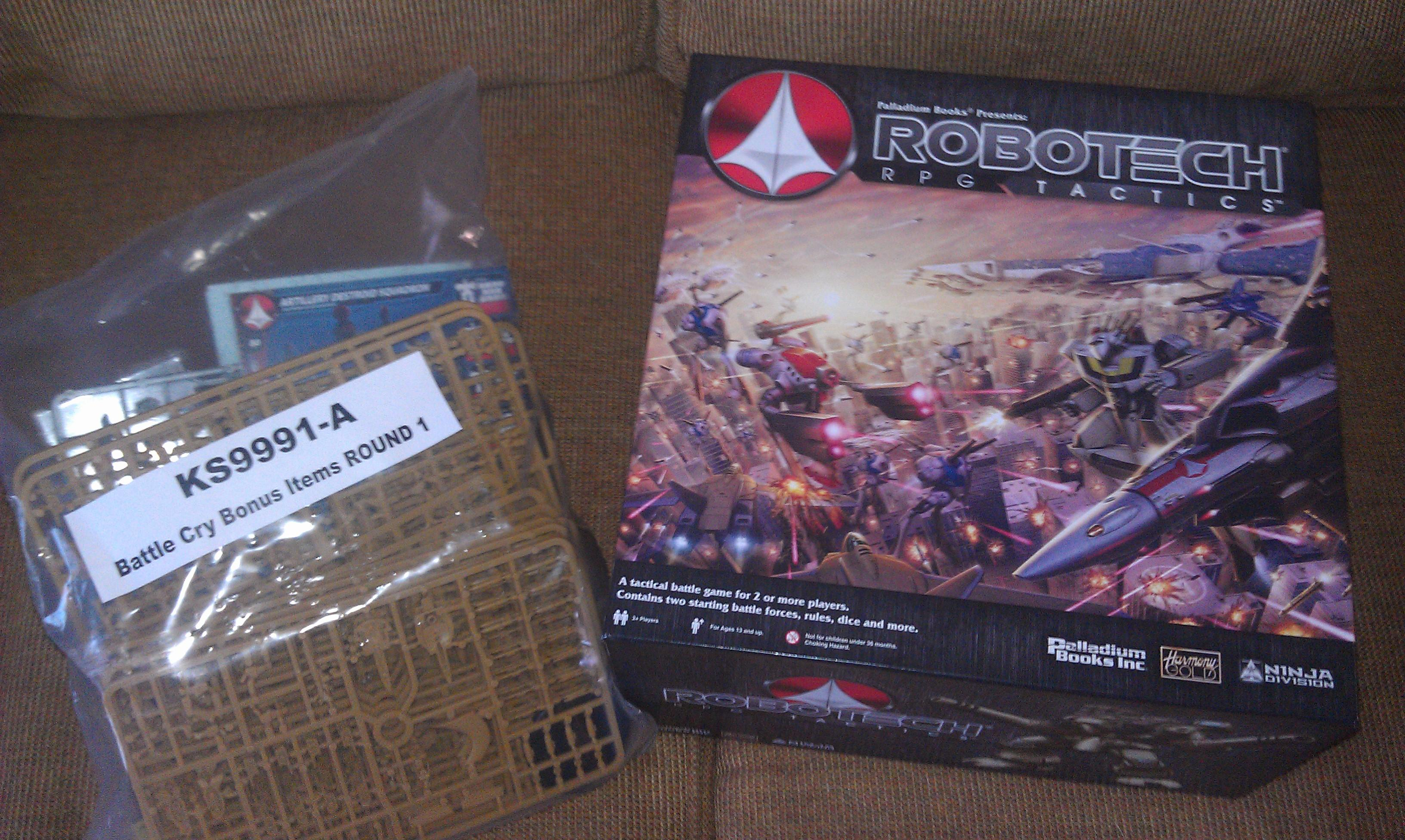 Robotech, Rrt, RoboTech KS Battle Cry Wave One