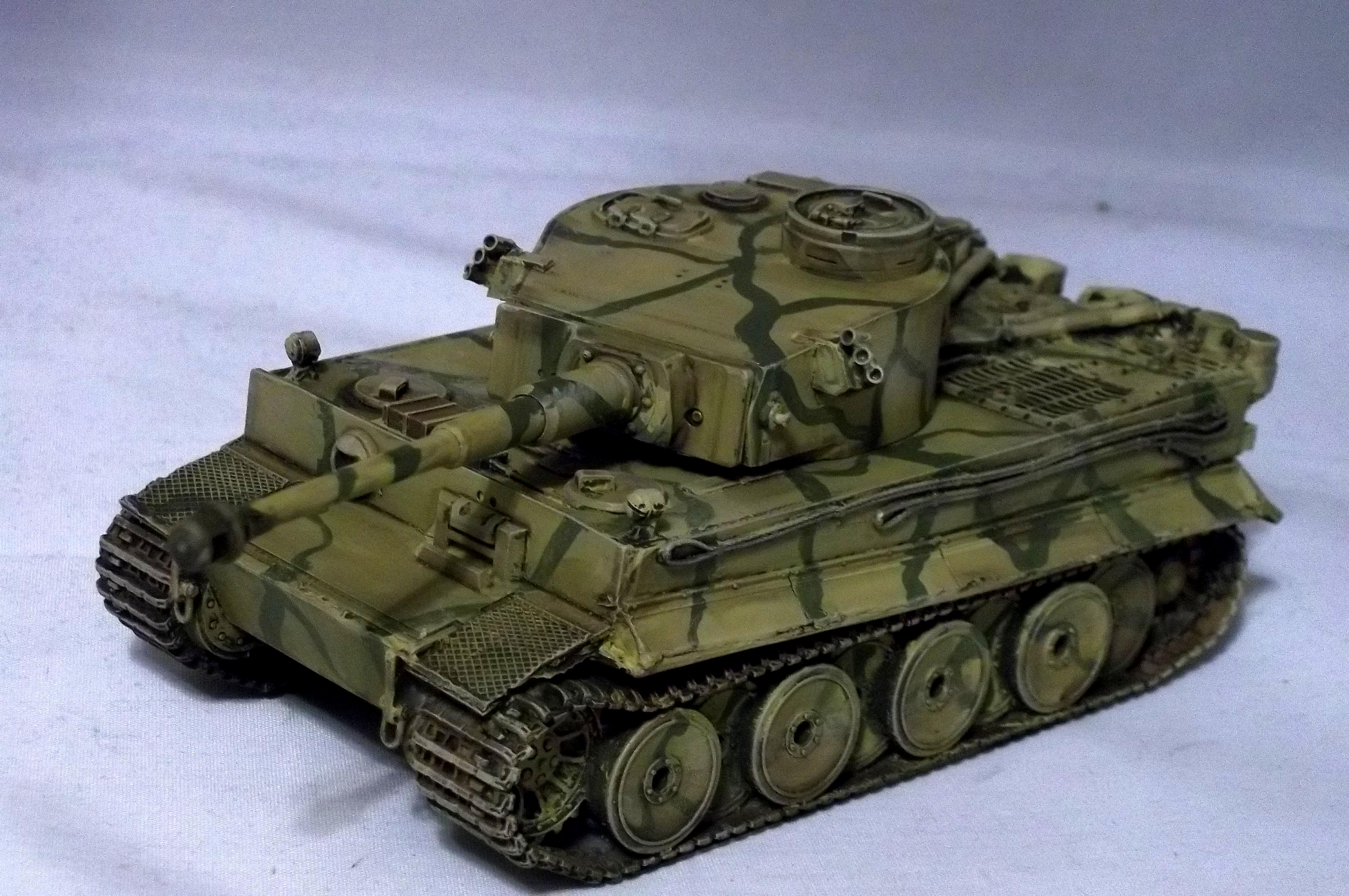 Bolt Action, Tiger Tank, Tutorial, World War 2
