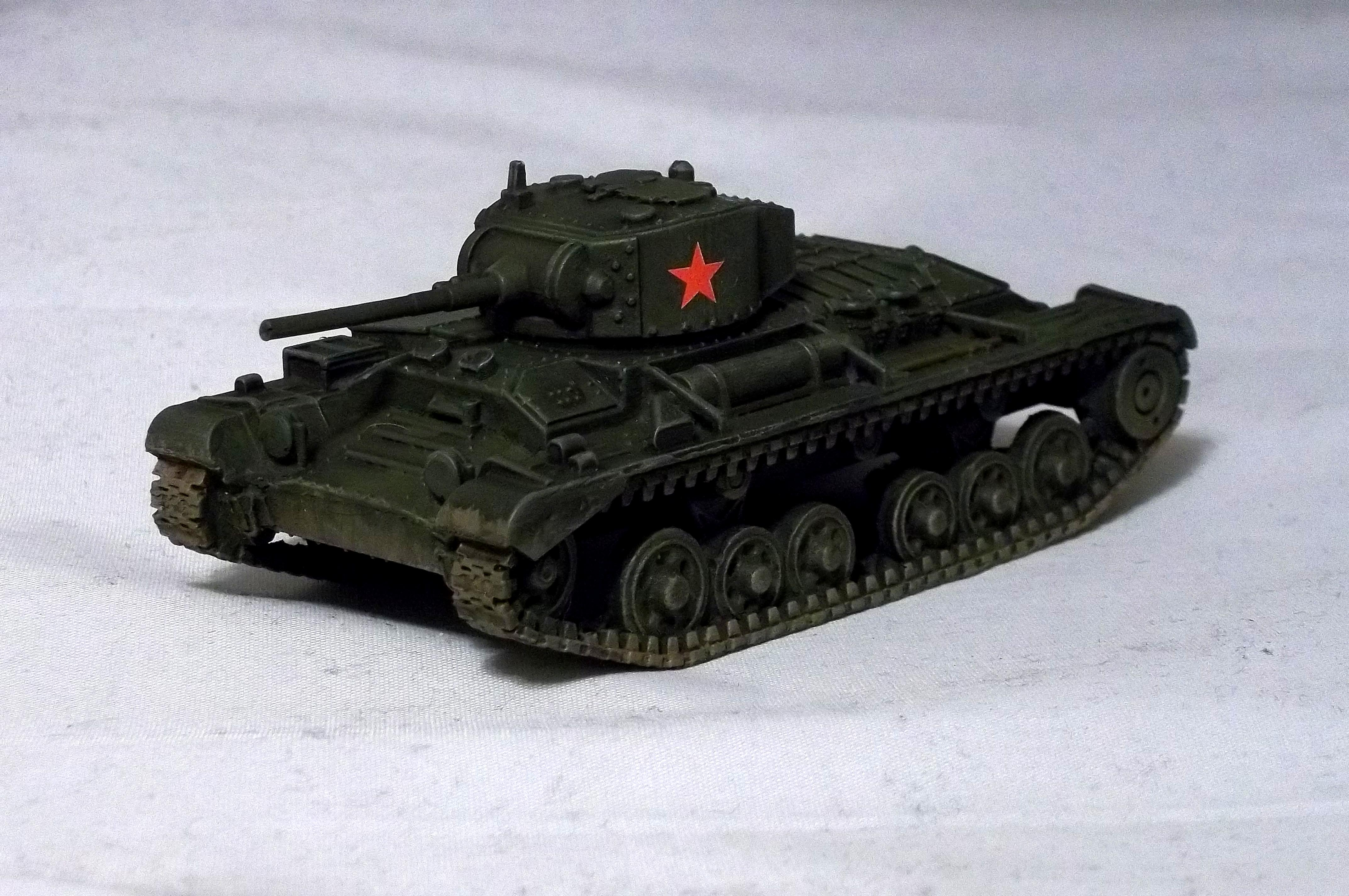Blitzkrieg Miniatures, Bolt Action, Lend-lease, Soviet, Tank, Valentine Mk Ii, World War 2