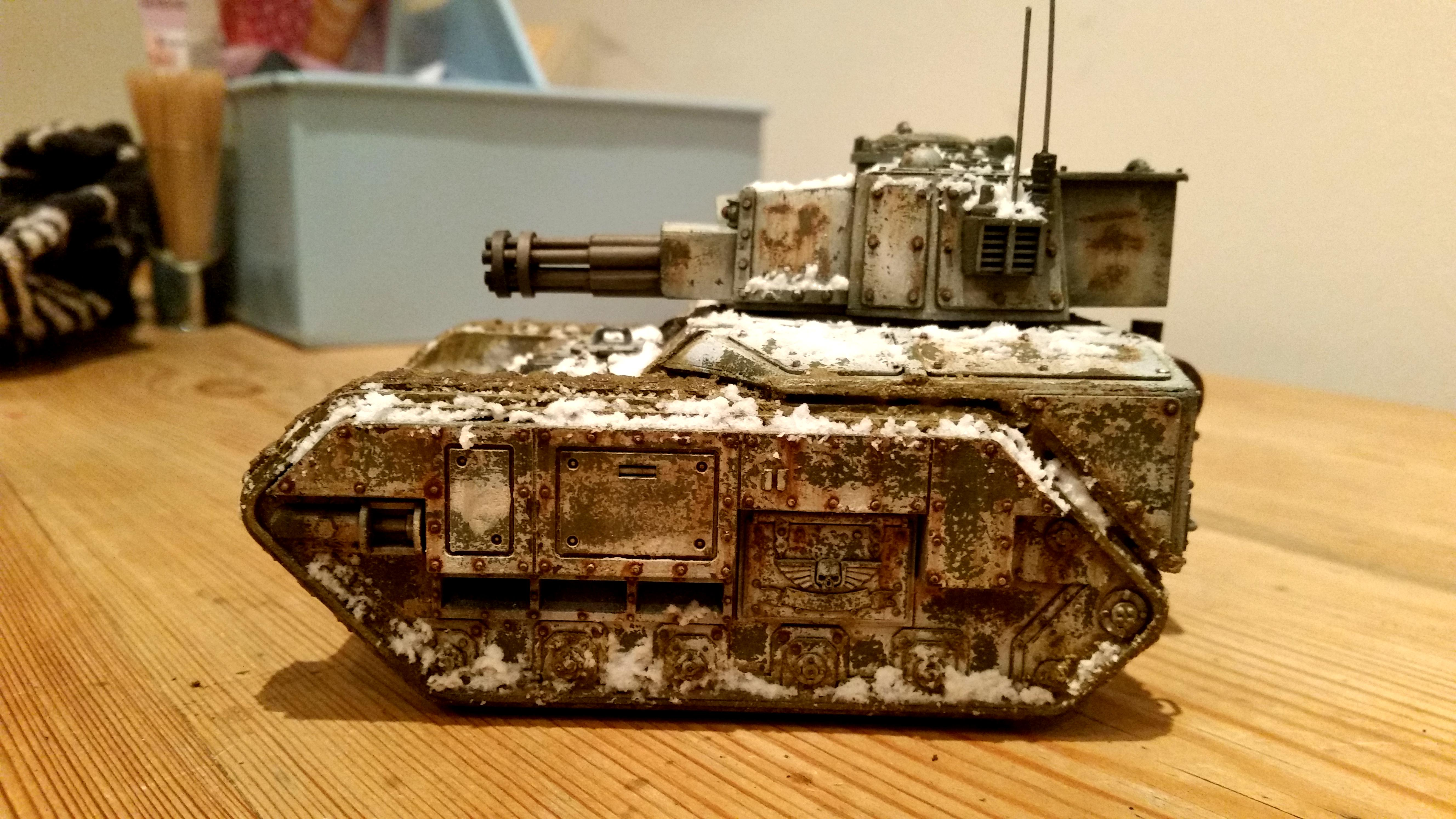 Astra Militarum, Conversion, Death Korps of Krieg, Imperial Guard, Leman Russ, Punisher