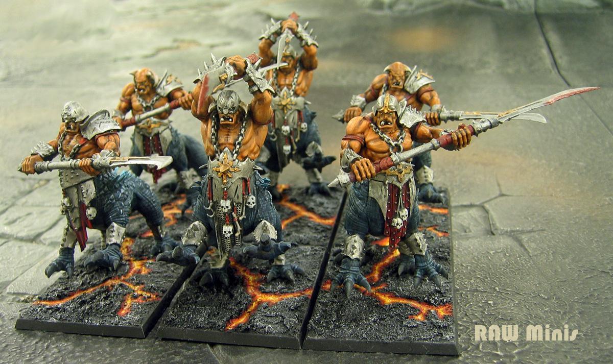 Chaos, Chaos Warrior, Dragon Ogres, Warhammer Fantasy, Warriors Of Chaos