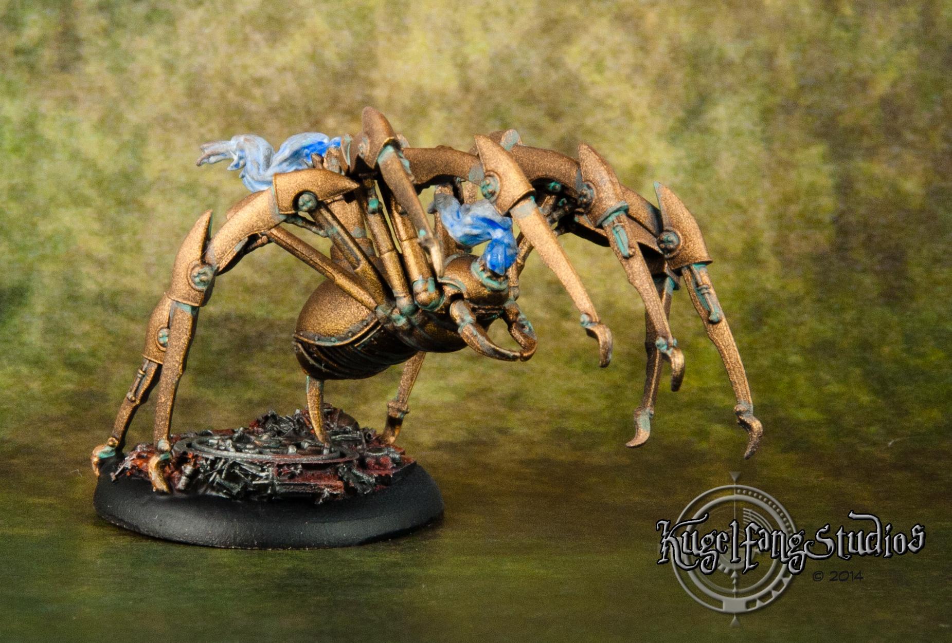 Arachnids, Brass, Howard, Joss, M&su, Malifaux, Punk, Ramos, Spider, Steam
