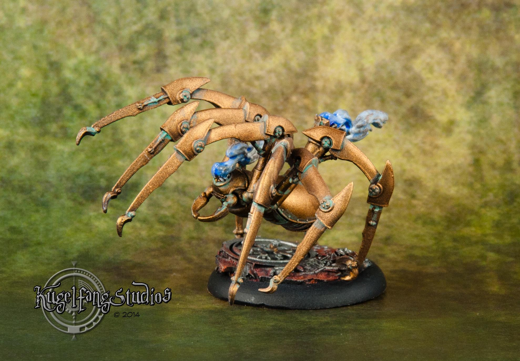 Arachnids, Brass, Howard, Joss, M&su, Malifaux, Punk, Ramos, Spider, Steam
