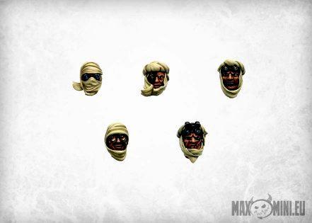 Arab, Head, Maxmini, Tallarn Desert Raiders