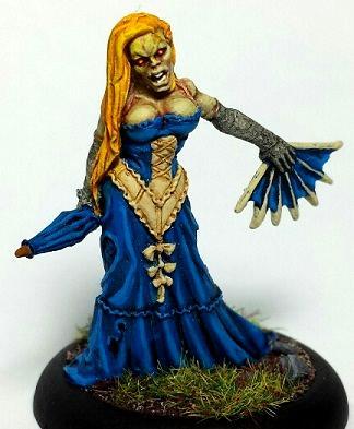Female, Malifaux, Resurrectionists, Zombie