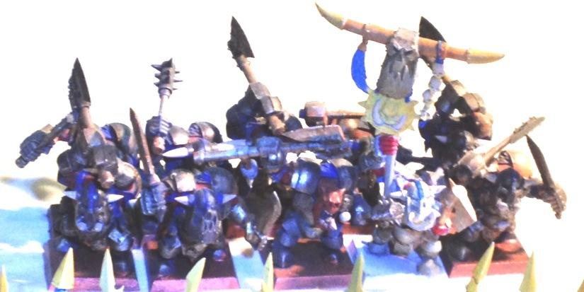 black orcs w blue accents