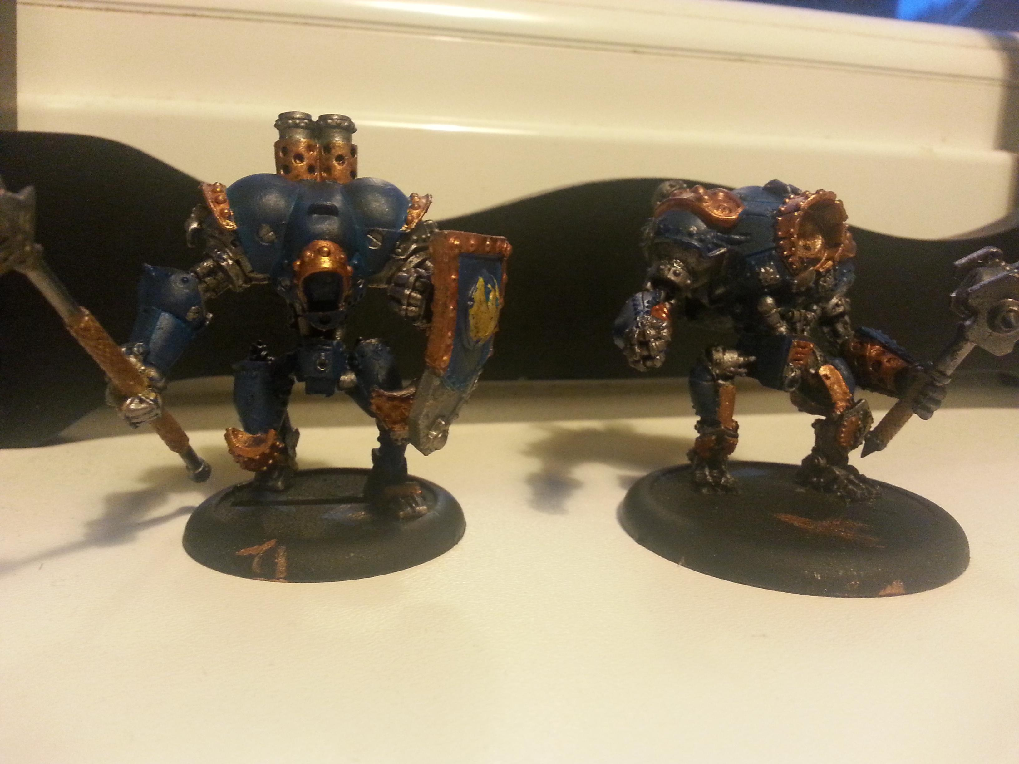 Painted Lancer and Ironclad