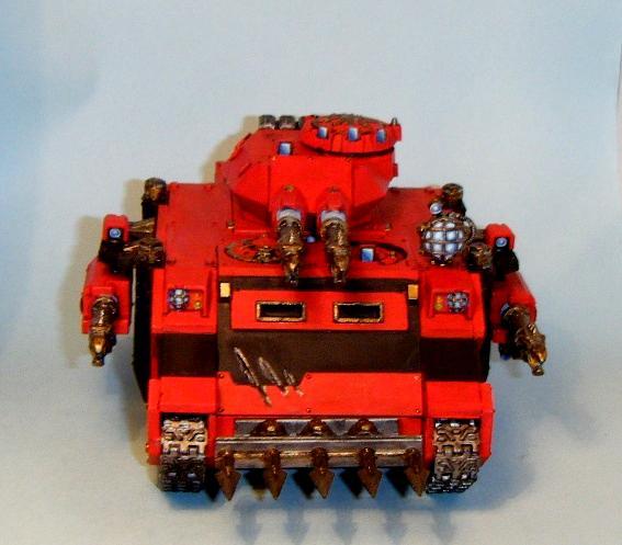 Armor, Laser, Predator front
