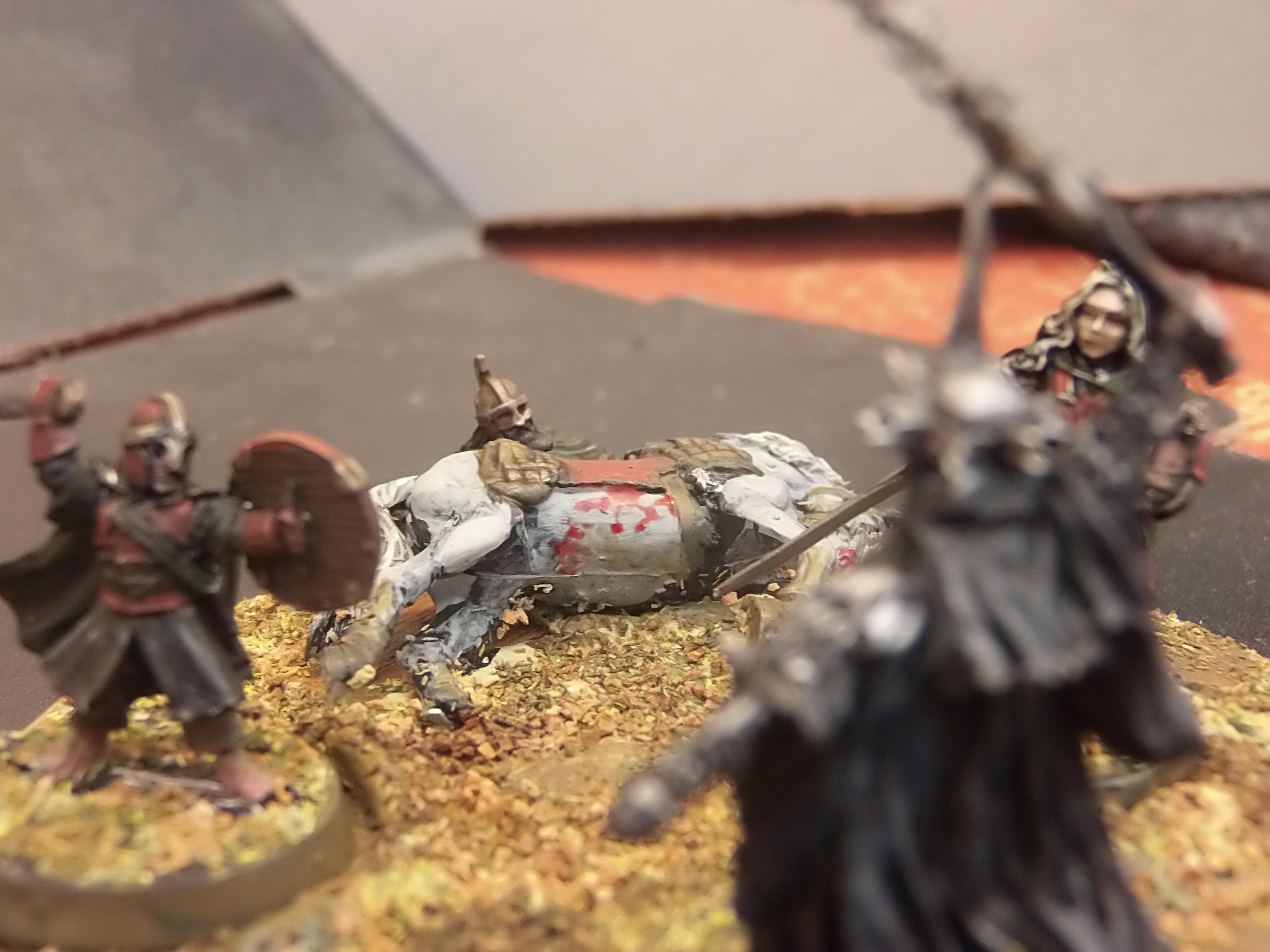 Diorama, Display, Eowyn, Hobbit, Lord Of The Rings, Nazgul, Return Of The King, Ringwraith, Rohan, Tolkien