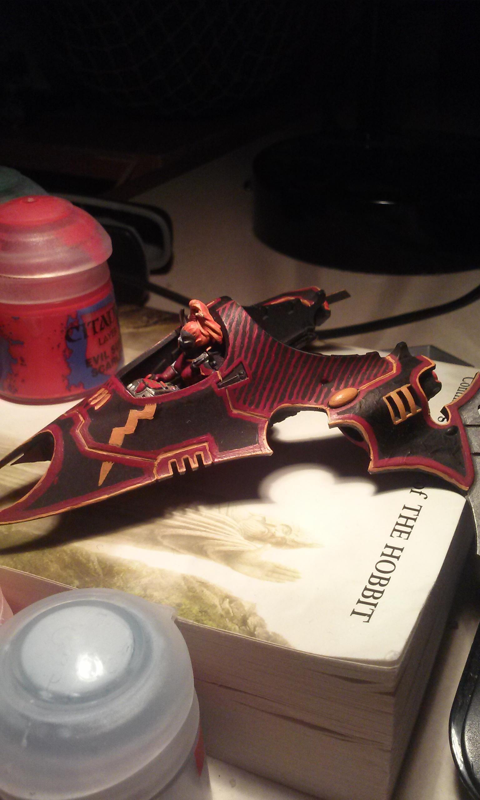 Dark Eldar, Flyer, Kabal, Scourge, Scourges, Venom, Warhammer 40,000, Winged