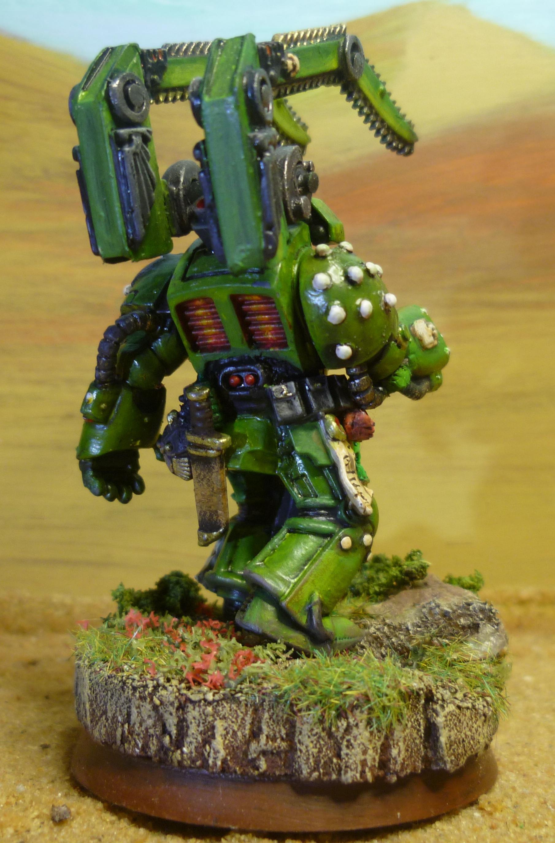 Mantis Warrior, Space Marines