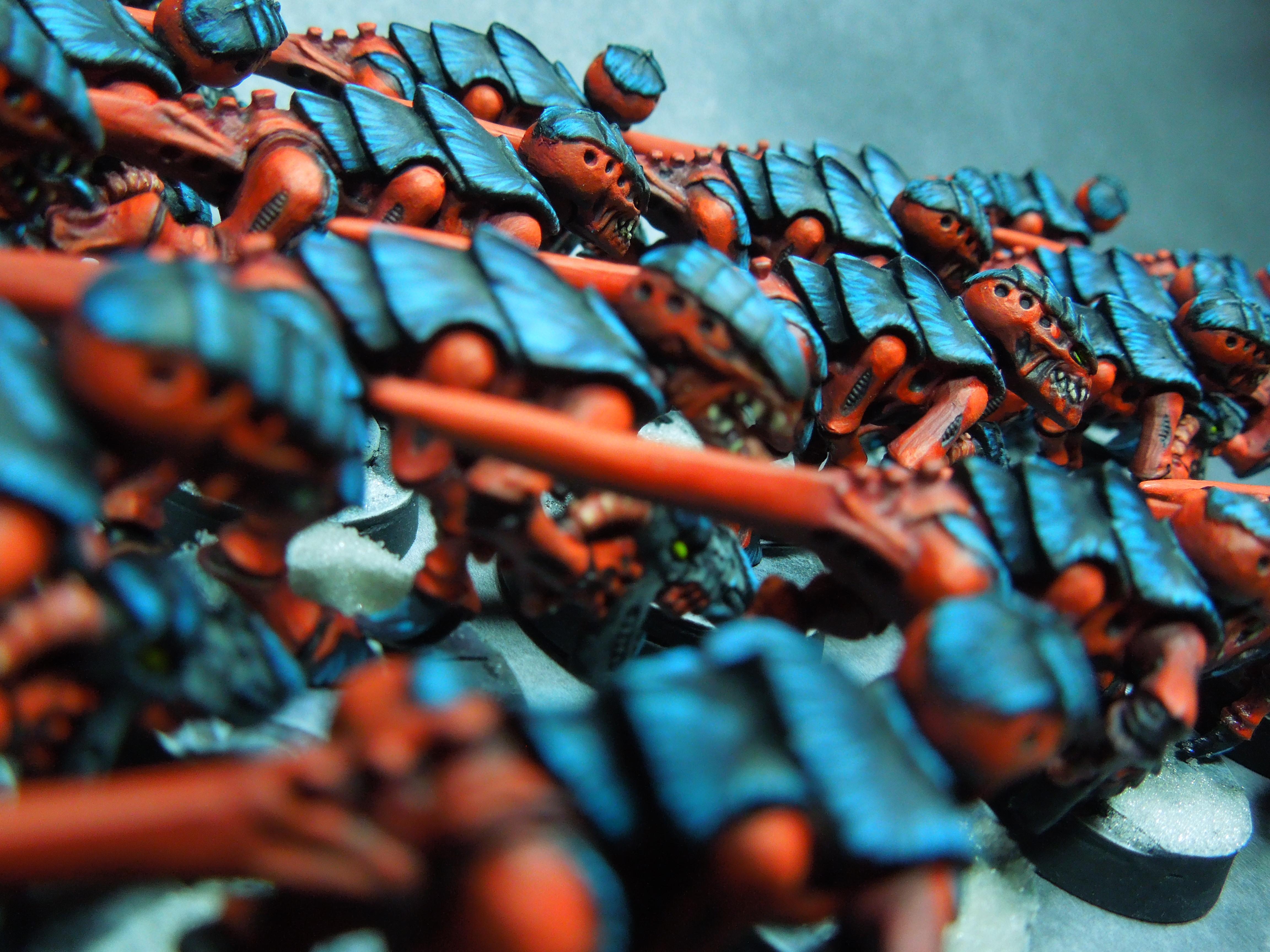 Behemoth, Bugs, Gants, Nids, Nova, Termagants, Tyranids