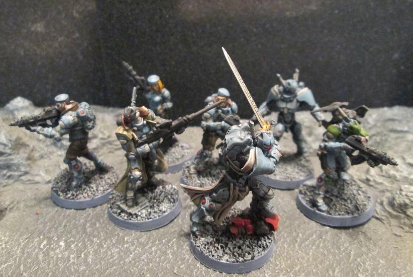 Corvus Belli, Infinity, Operation Ice Storm, Panoceania